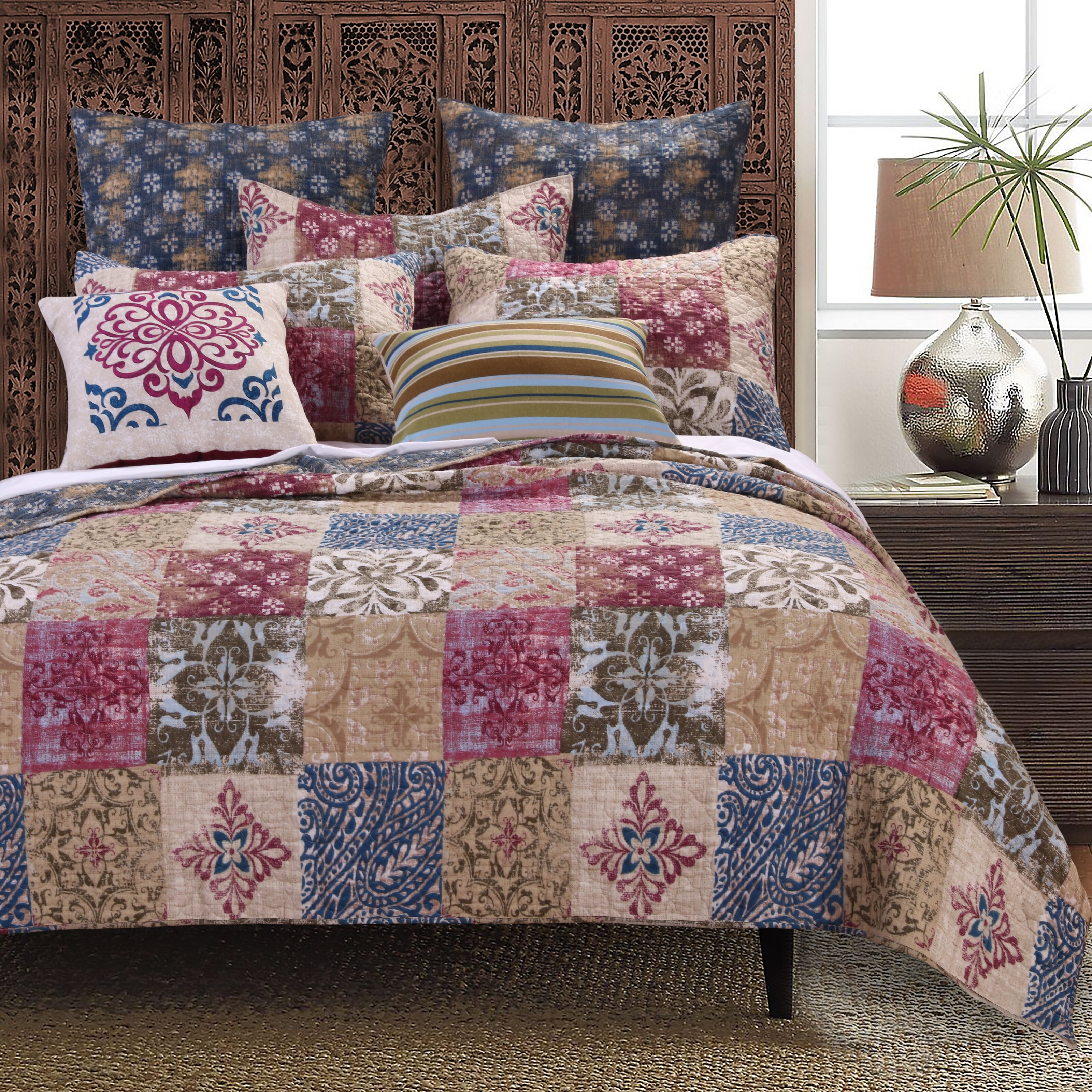 Greenland Home Fashions Charmed Quilt Set Wayfair