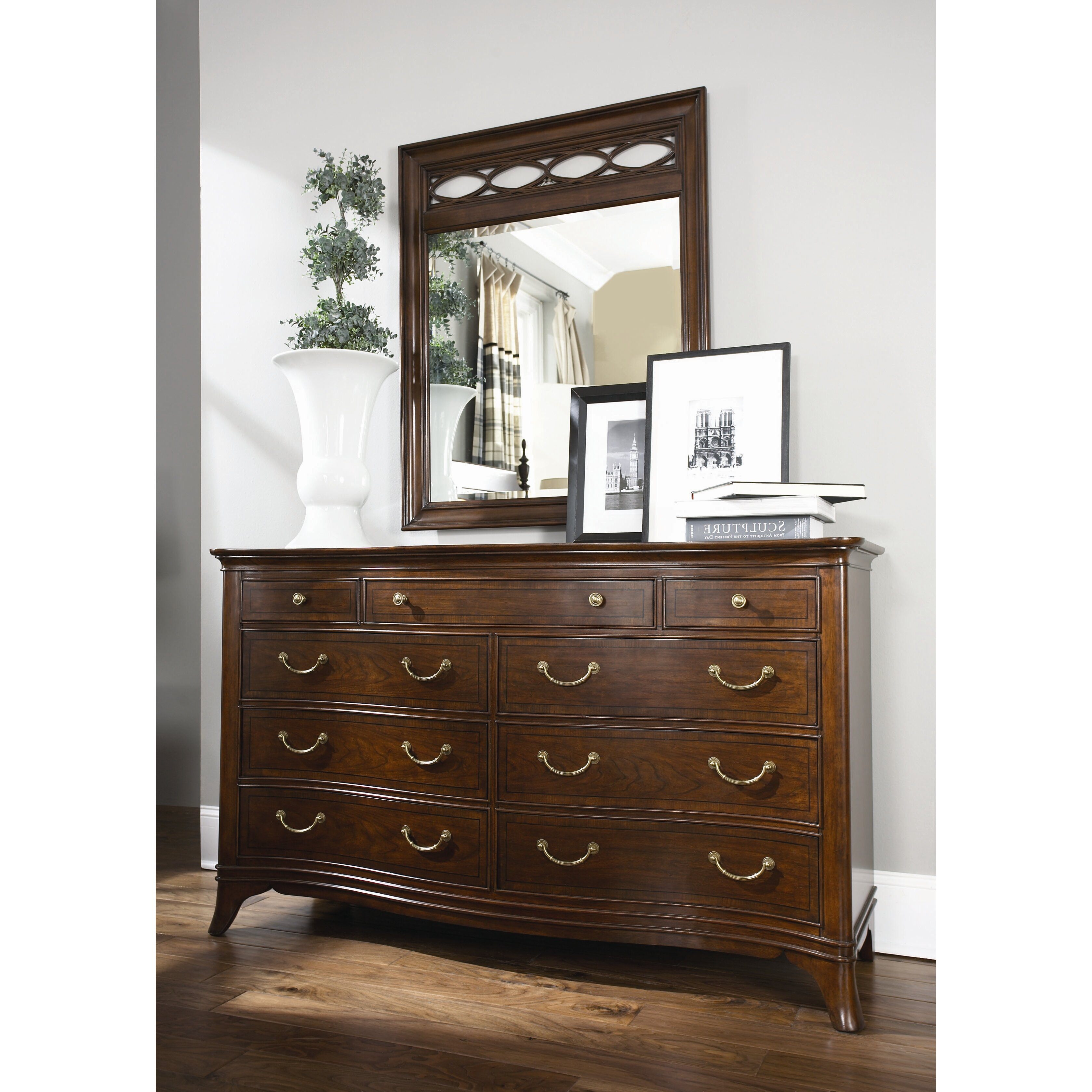 American drew cherry grove new generation triple 9 drawer for American drew bedroom furniture reviews