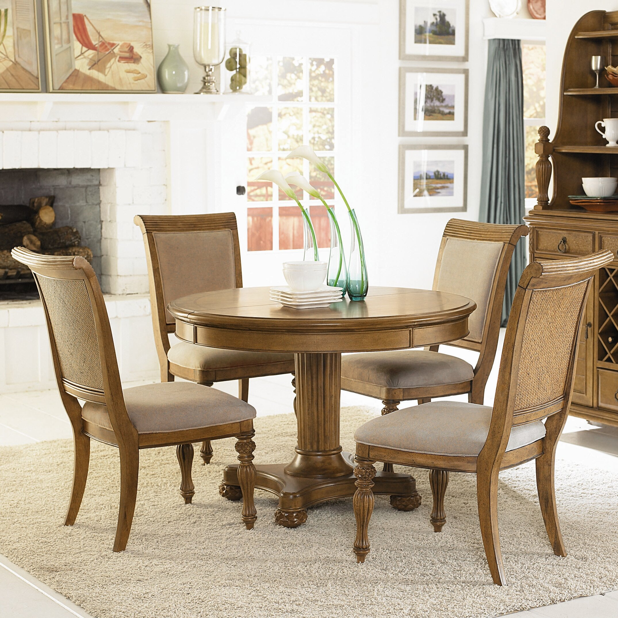 American Drew Dining Room Furniture: American Drew Grand Isle 7 Piece Dining Set & Reviews