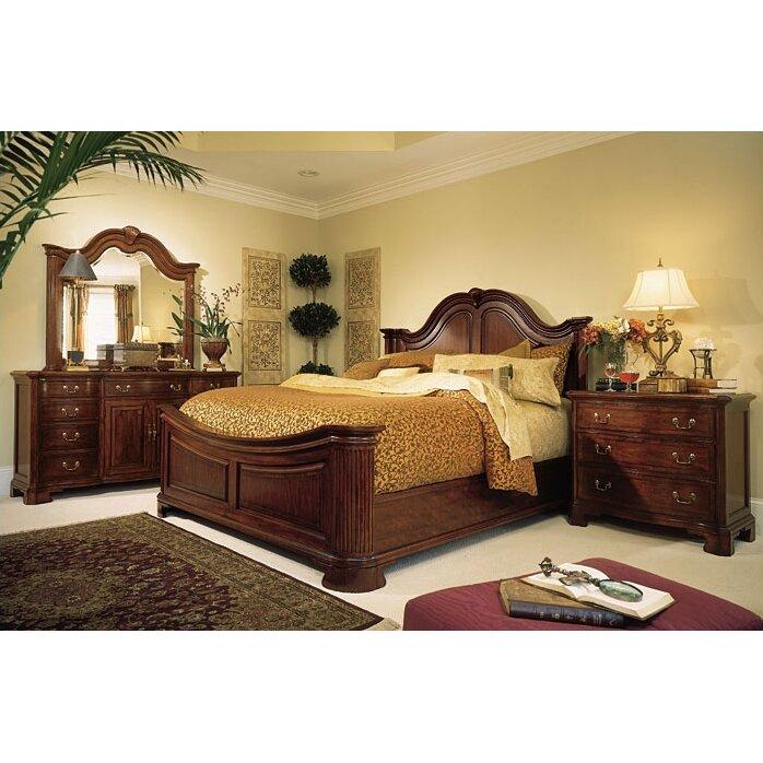 american drew cherry grove panel customizable bedroom set