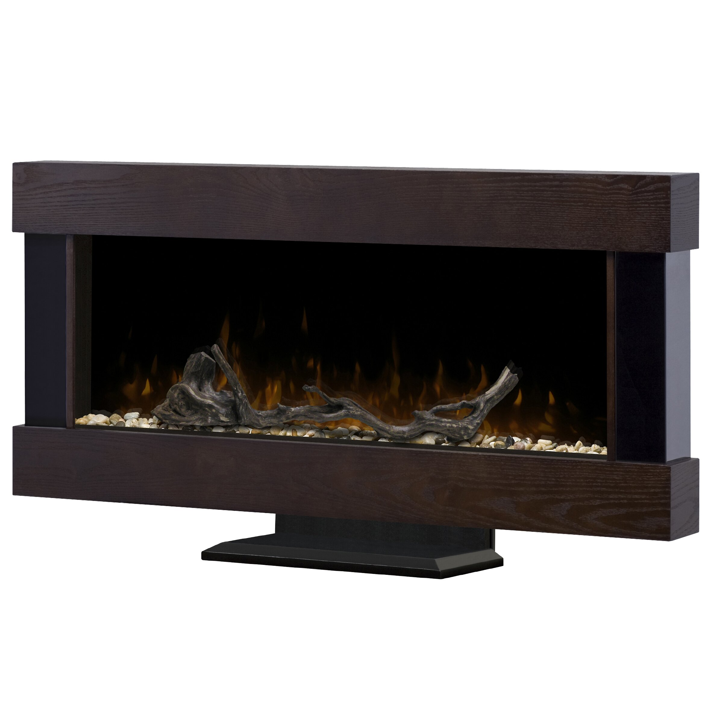 Dimplex Chalet Wall Mounted Electric Fireplace & Reviews