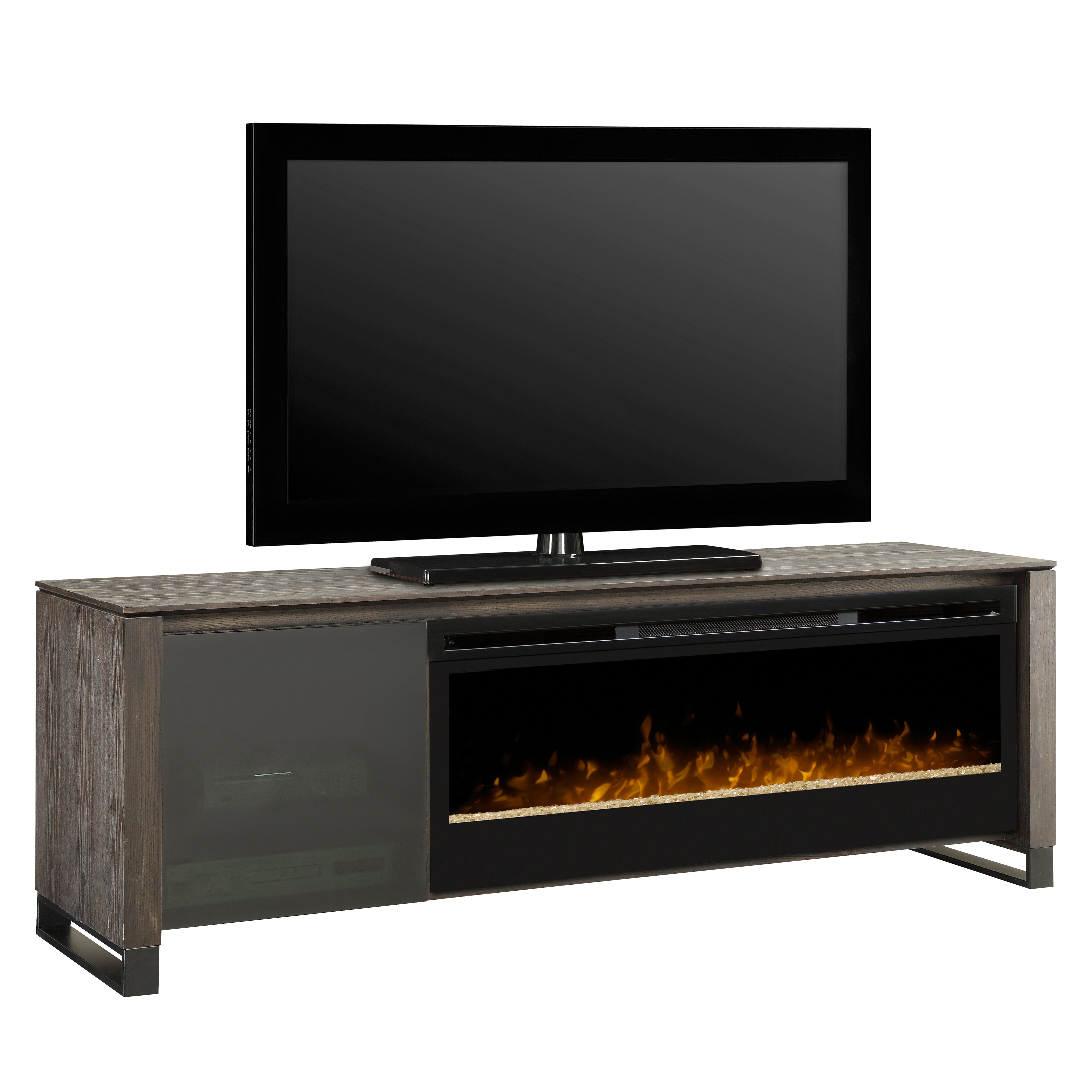Dimplex Howden Tv Stand With Electric Fireplace Amp Reviews