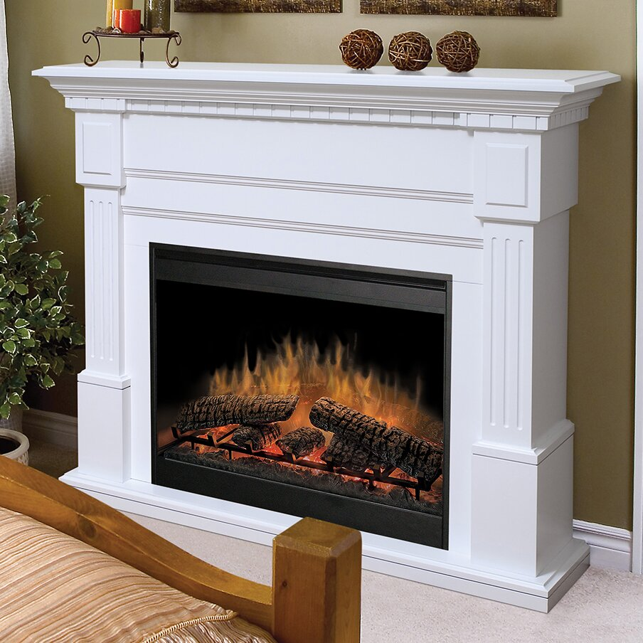 Dimplex Essex Electric Fireplace Amp Reviews Wayfair
