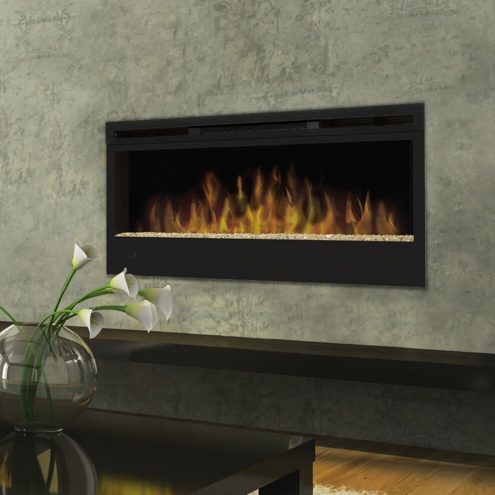 Dimplex Synergy Wall Mounted Electric Fireplace Reviews Wayfair