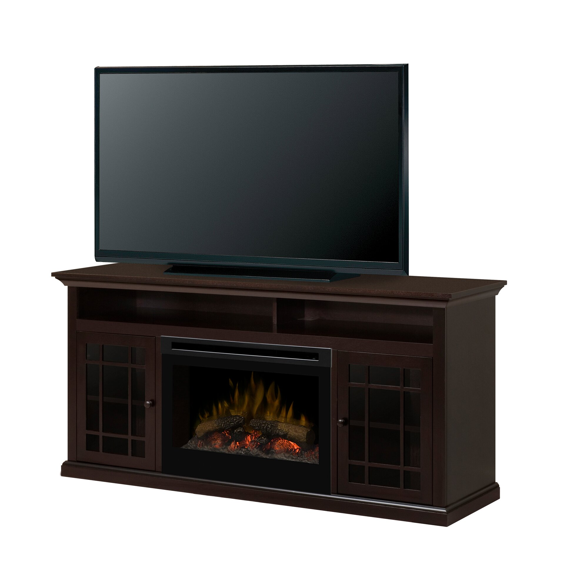 dimplex hazelwood media console electric fireplace