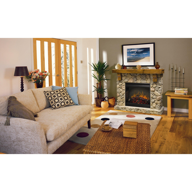 Dimplex Fieldstone Electric Fireplace Amp Reviews Wayfair