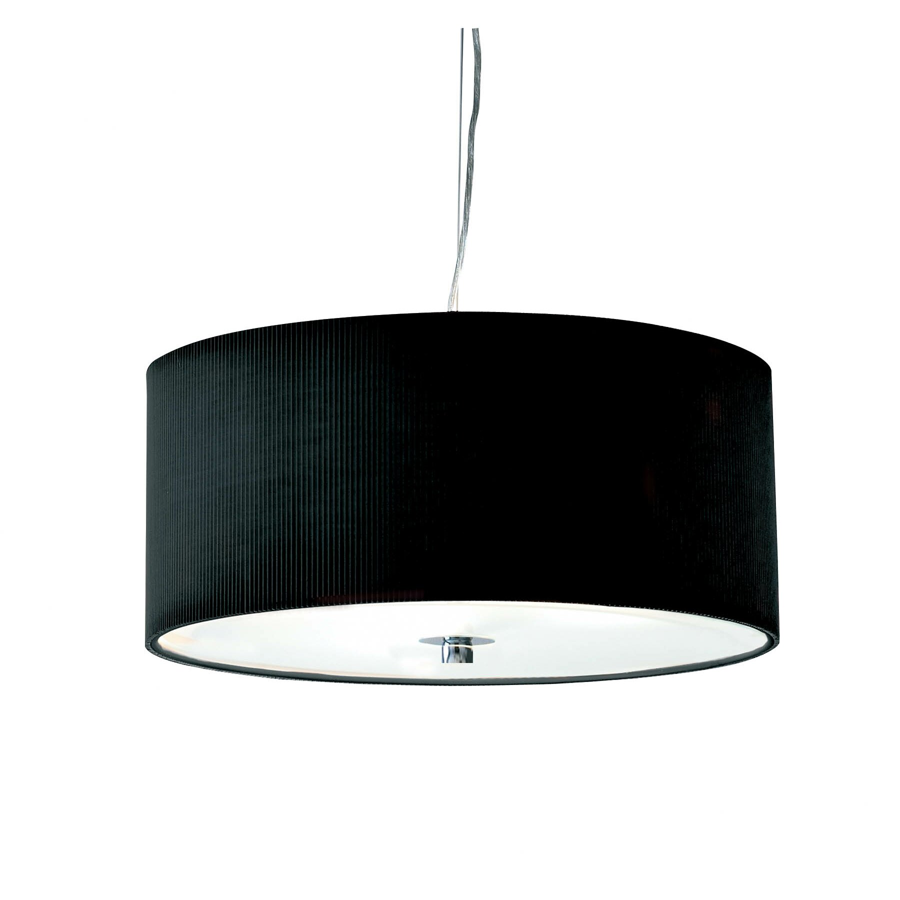 Dar Lighting Zaragoza 3 Light Drum Pendant Amp Reviews