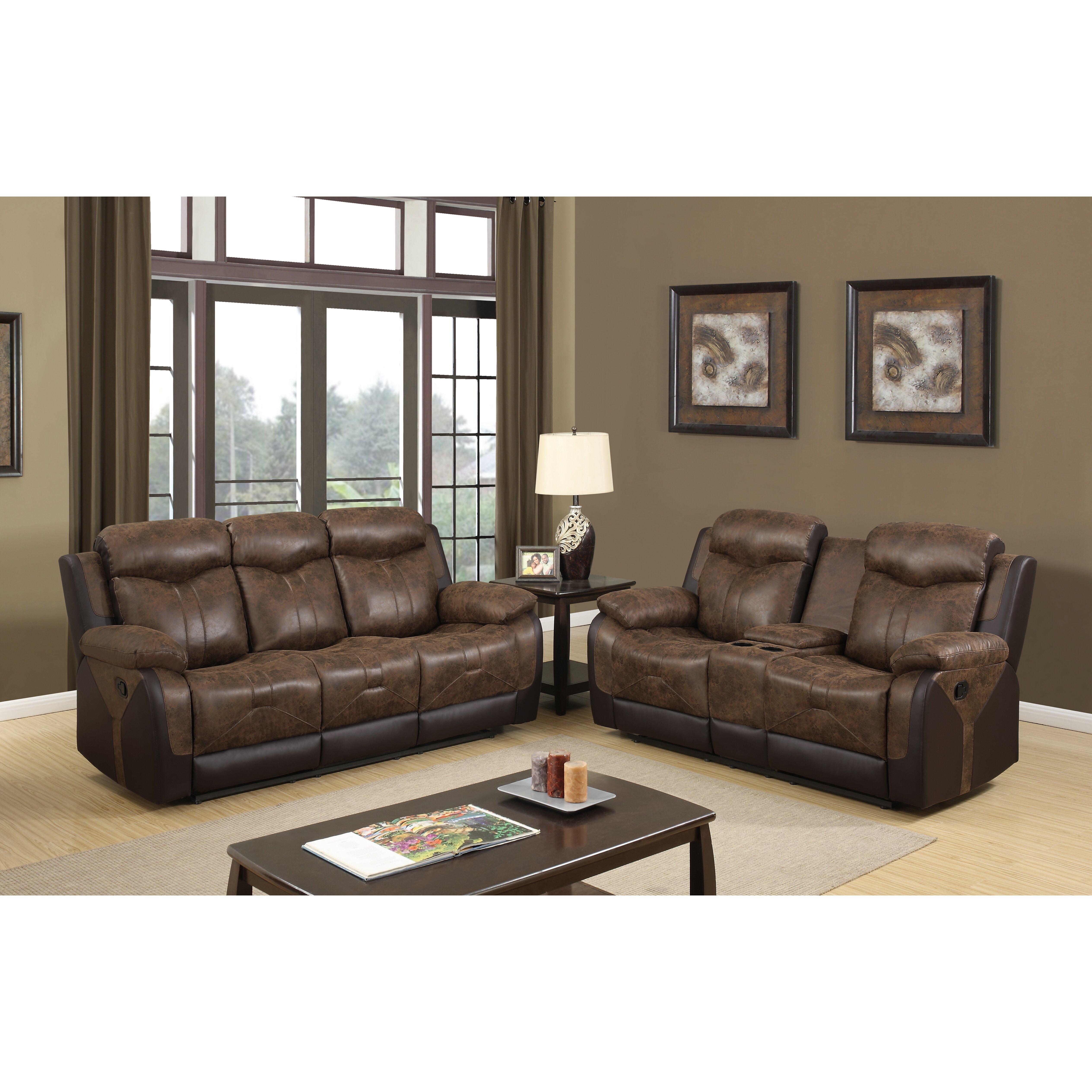 Global furniture usa reclining sofa wayfair for Buy sofa online usa