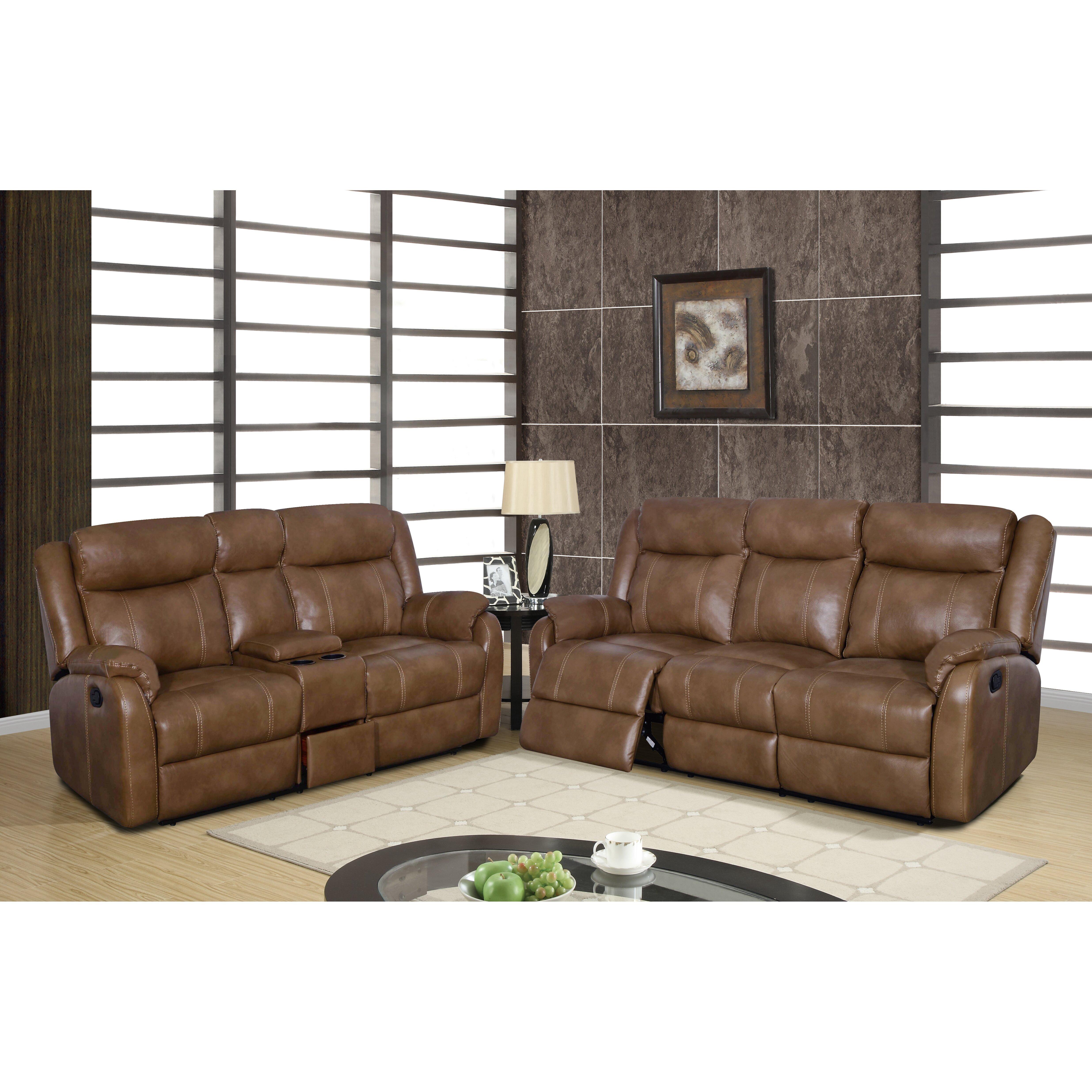Global furniture usa reclining sofa wayfair for Divan furniture usa