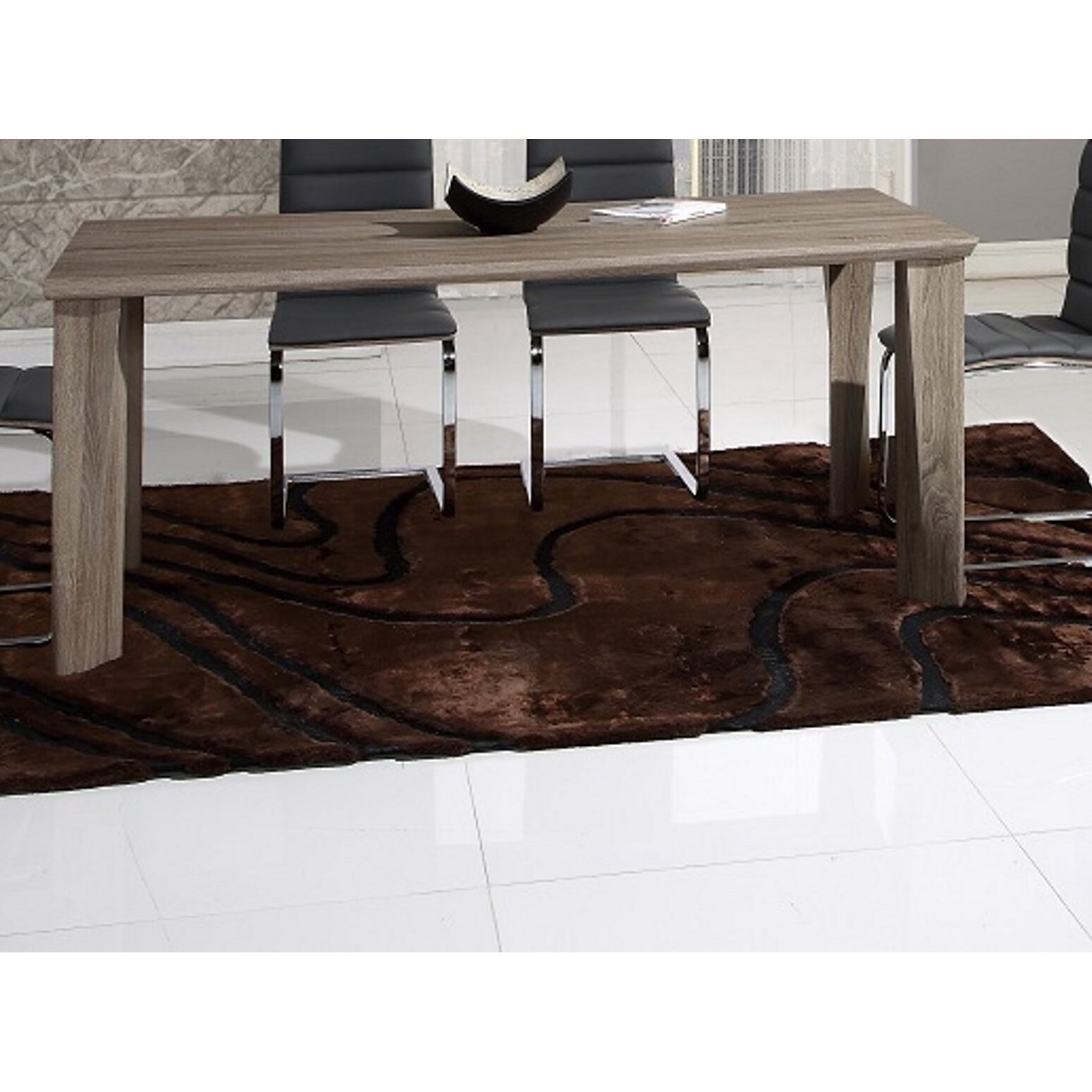 Global furniture usa dining table global furniture usa for Dining chairs t k maxx
