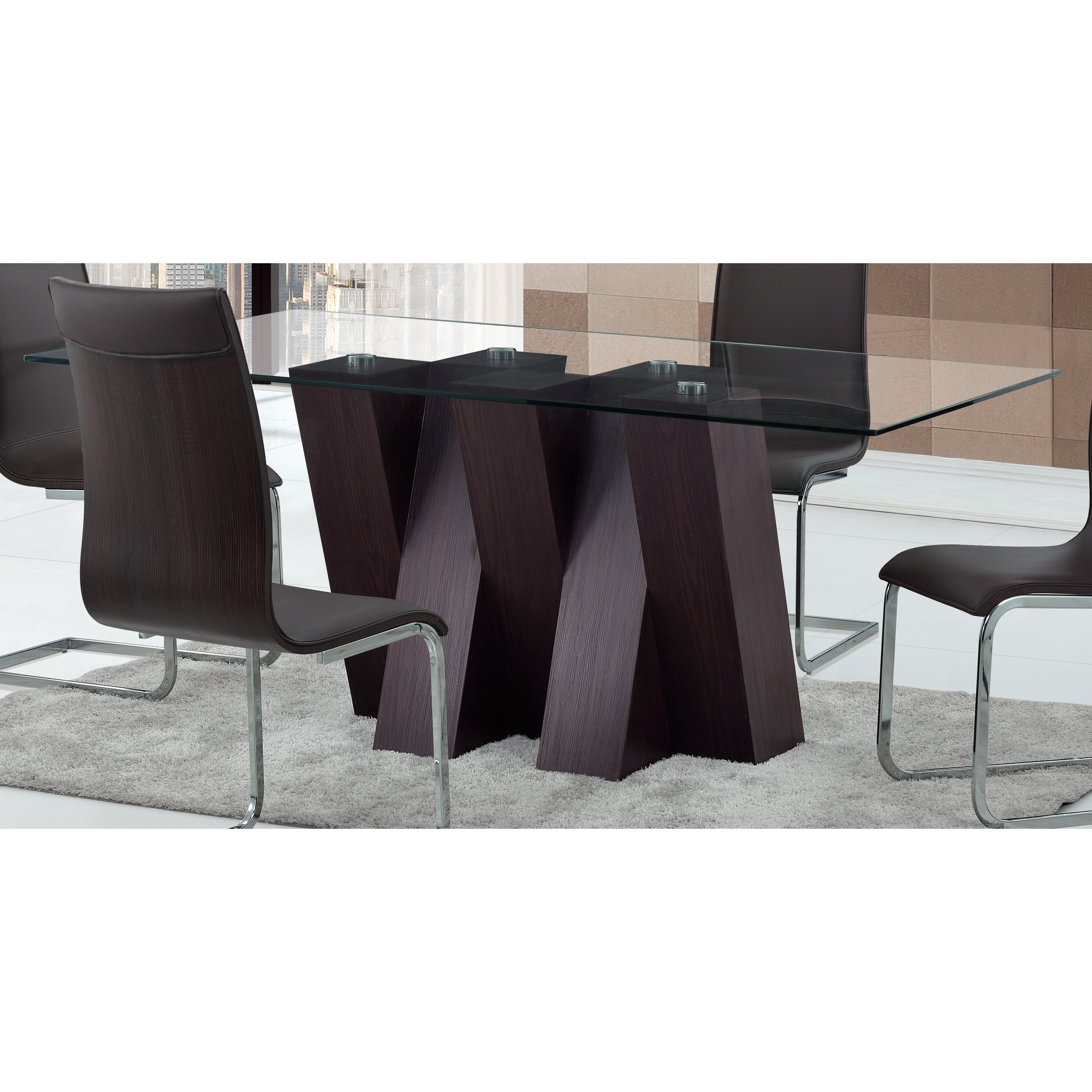 Global furniture usa dining table wayfair for Furniture usa
