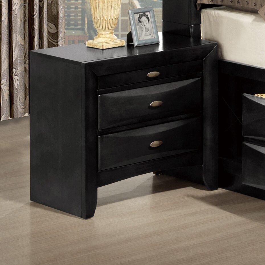 Global furniture usa linda 2 drawer nightstand reviews for J furniture usa reviews