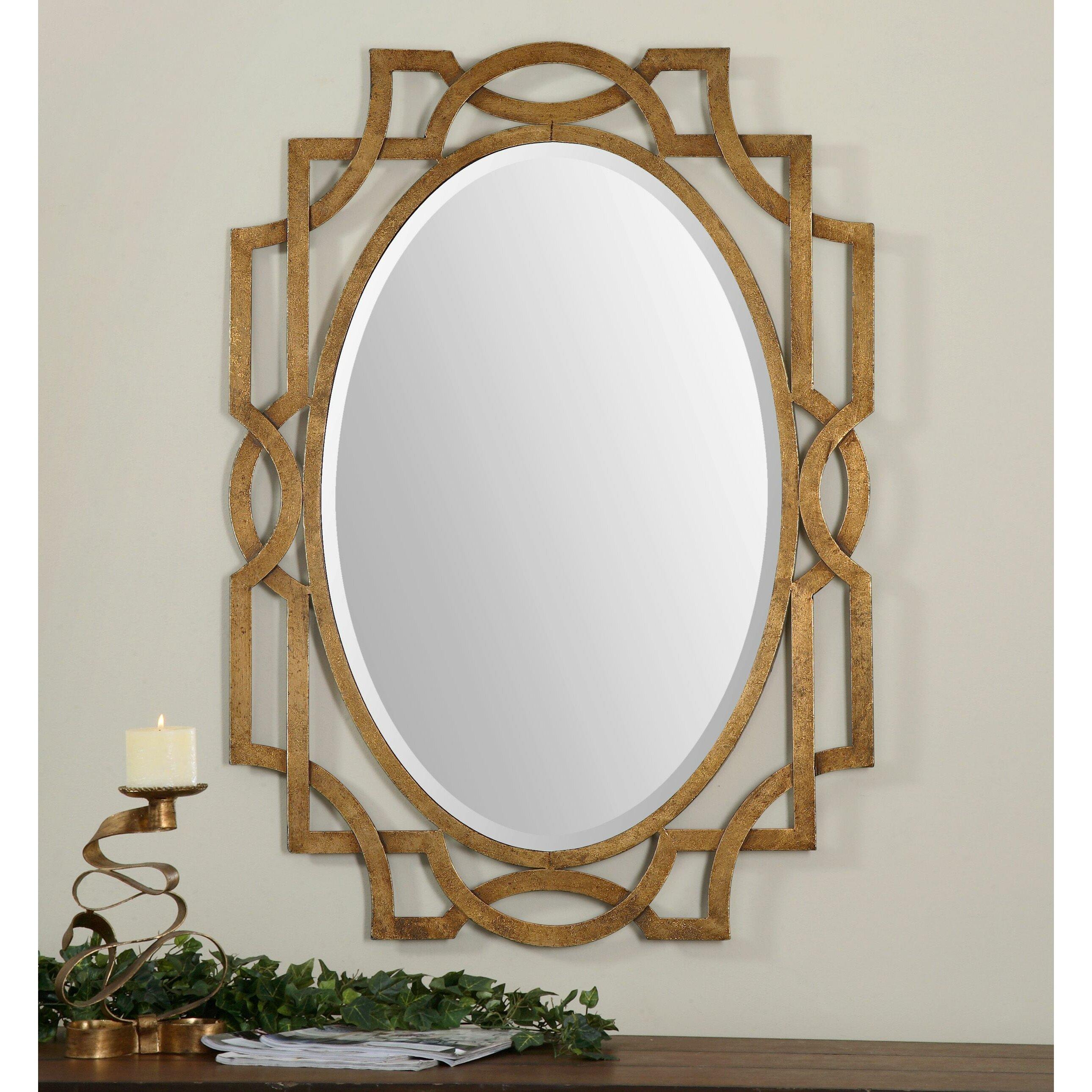 Vivian Wall Mirror By Uttermost: Uttermost Margutta Wall Mirror & Reviews