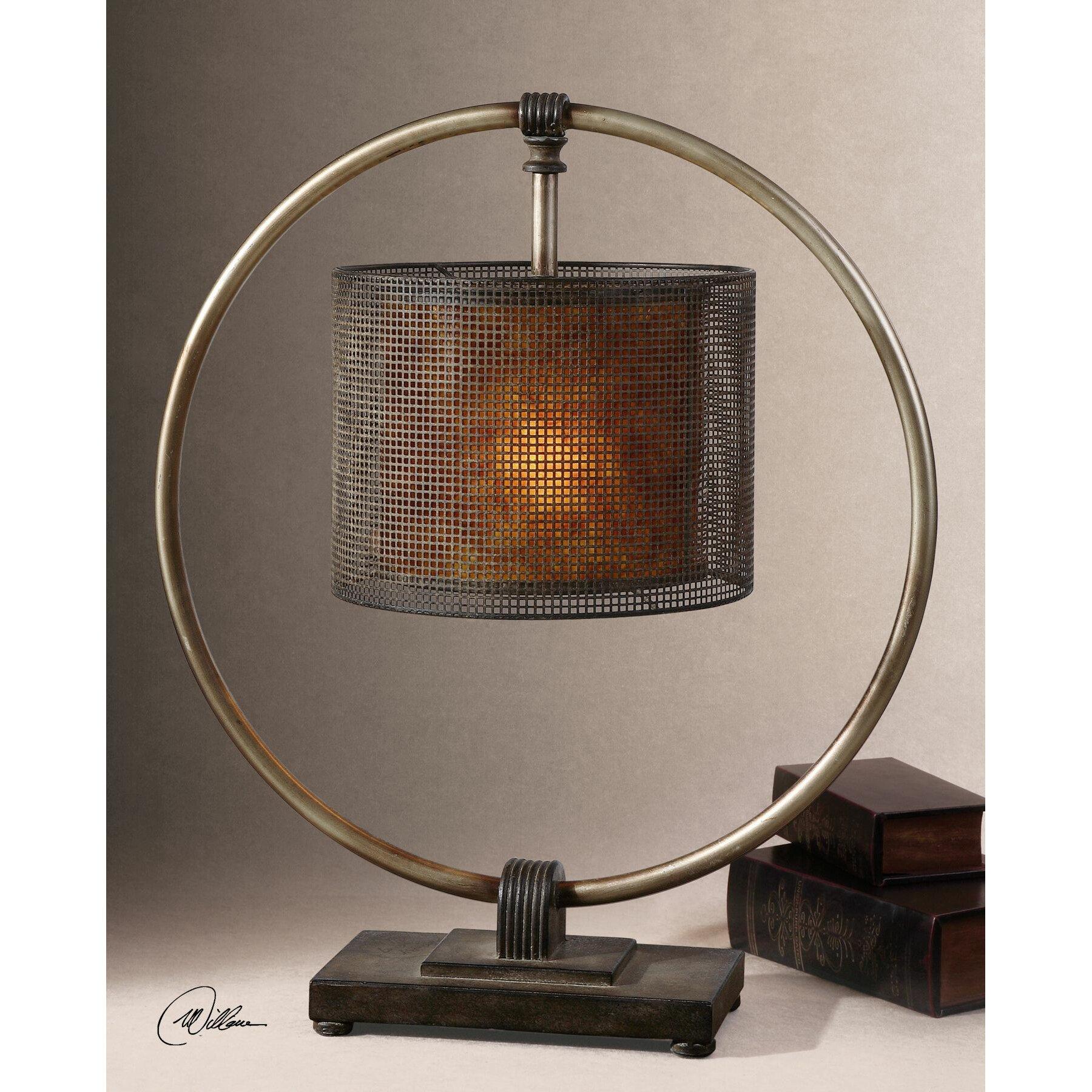 uttermost dalou 28 table lamp reviews wayfair. Black Bedroom Furniture Sets. Home Design Ideas