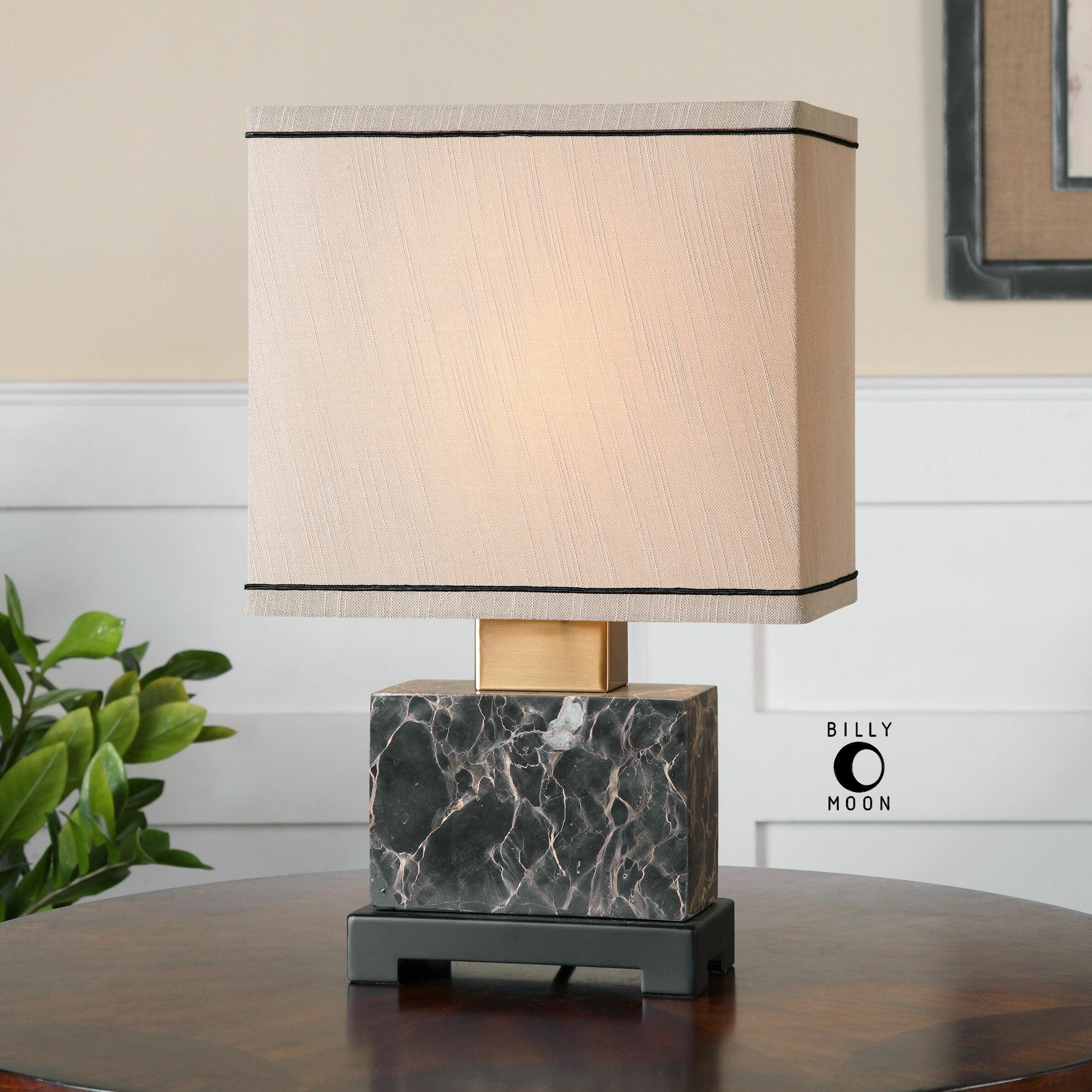 entry way table uttermost anadell 15 75 quot table lamp amp reviews wayfair 29975