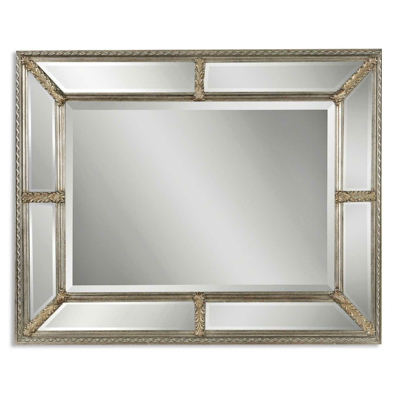 Uttermost lucinda wall mirror reviews wayfair for Mirror o mirror