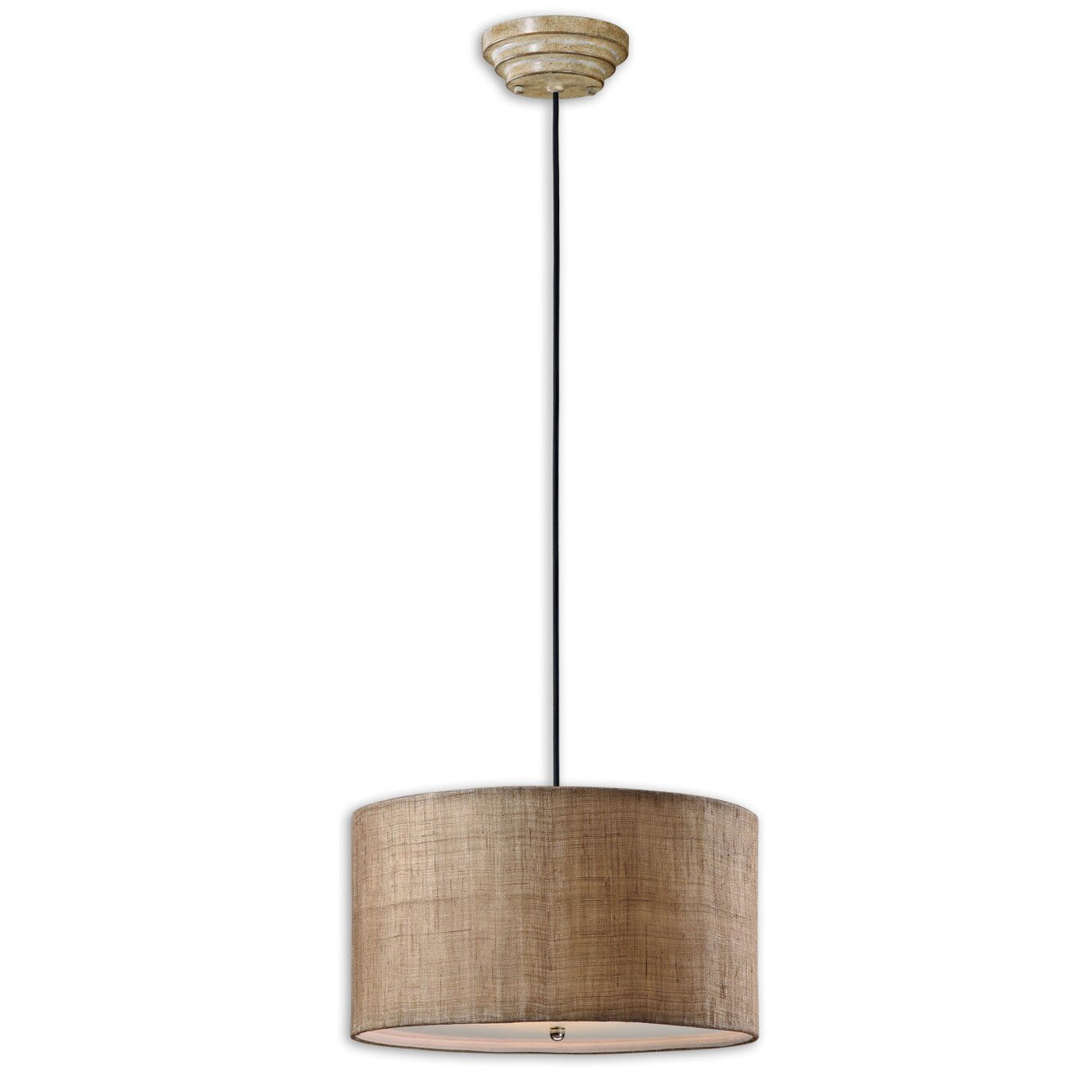 Foyer Drum Lighting : Uttermost ck generic light dafina drum foyer pendant