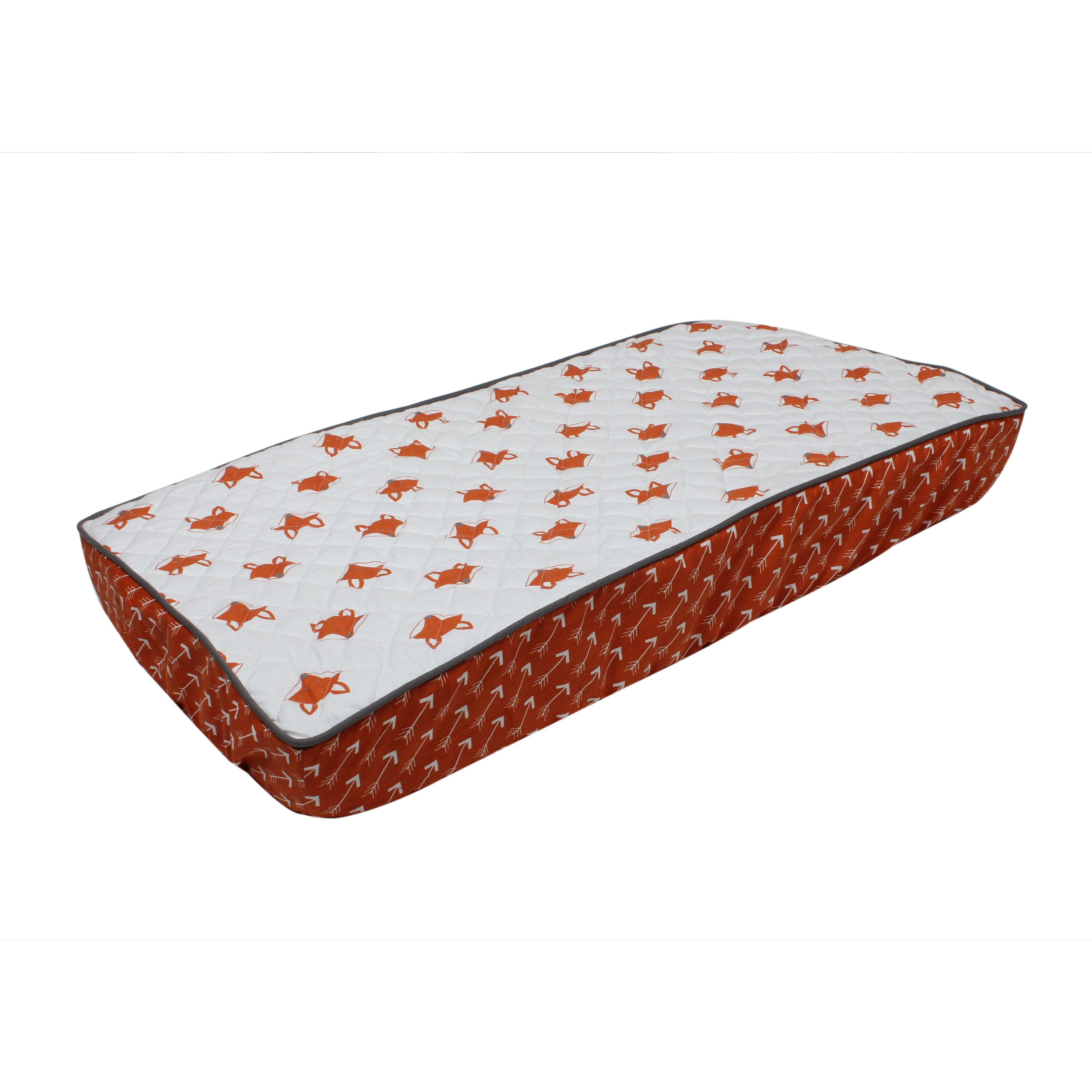 Bacati Playful Fox Quilted Changing Pad Cover amp Reviews  : Bacati Playful Fox Quilted Changing Pad Cover from www.wayfair.ca size 3000 x 3000 jpeg 662kB