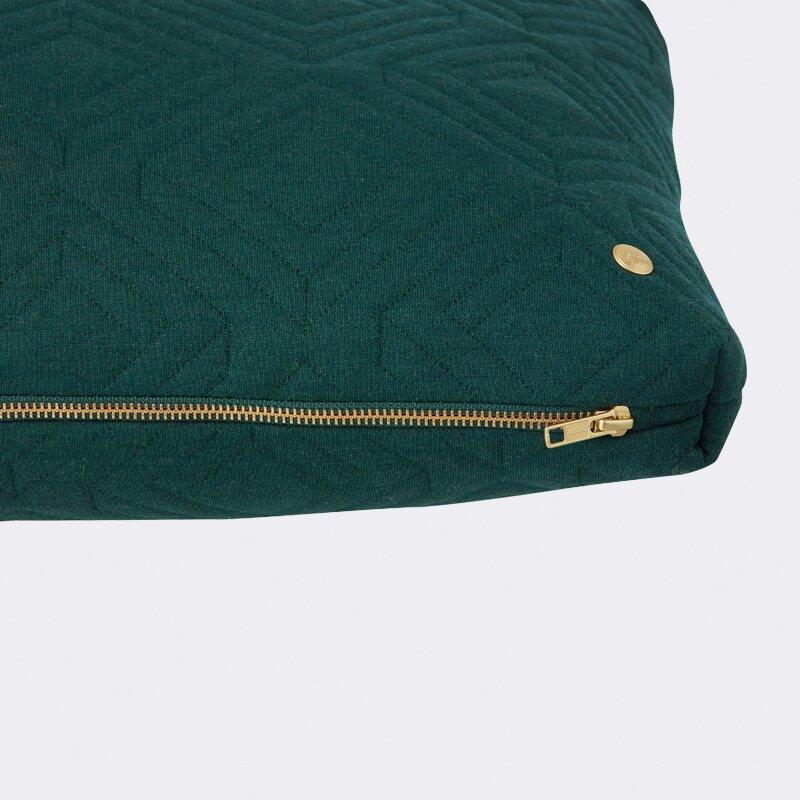 ferm living quilt zipper lumbar pillow wayfair. Black Bedroom Furniture Sets. Home Design Ideas
