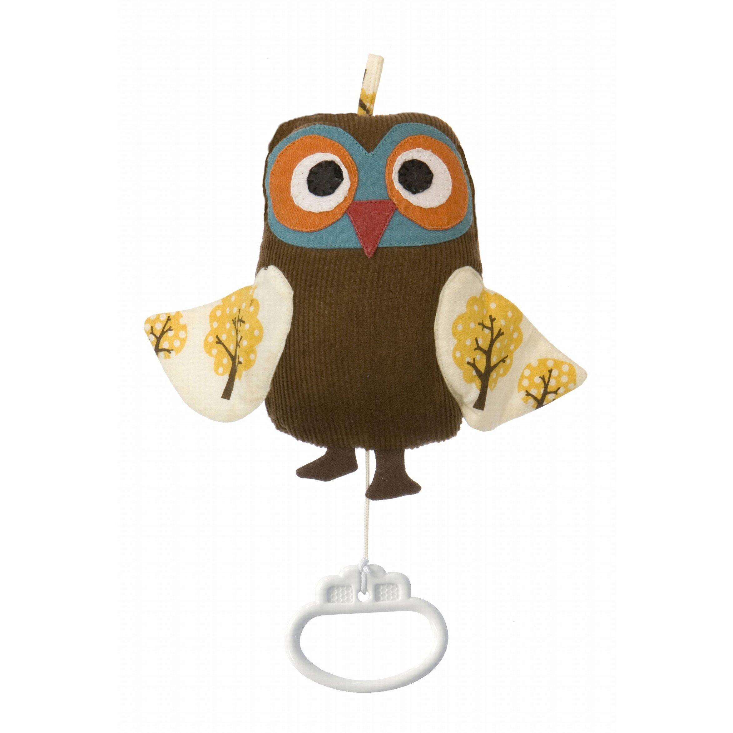 ferm living owl music mobile reviews wayfair. Black Bedroom Furniture Sets. Home Design Ideas