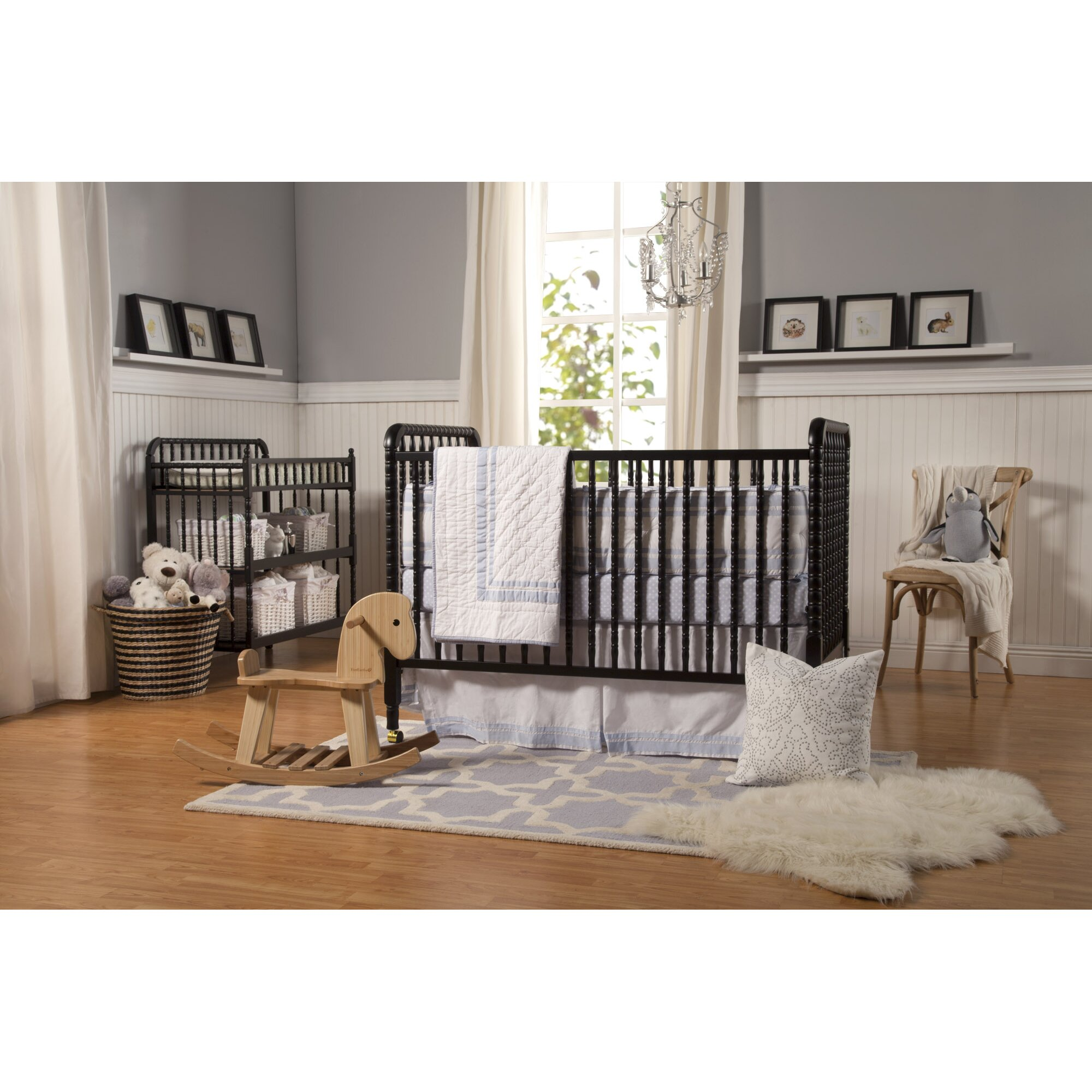 davinci jenny lind stationary crib reviews wayfair. Black Bedroom Furniture Sets. Home Design Ideas
