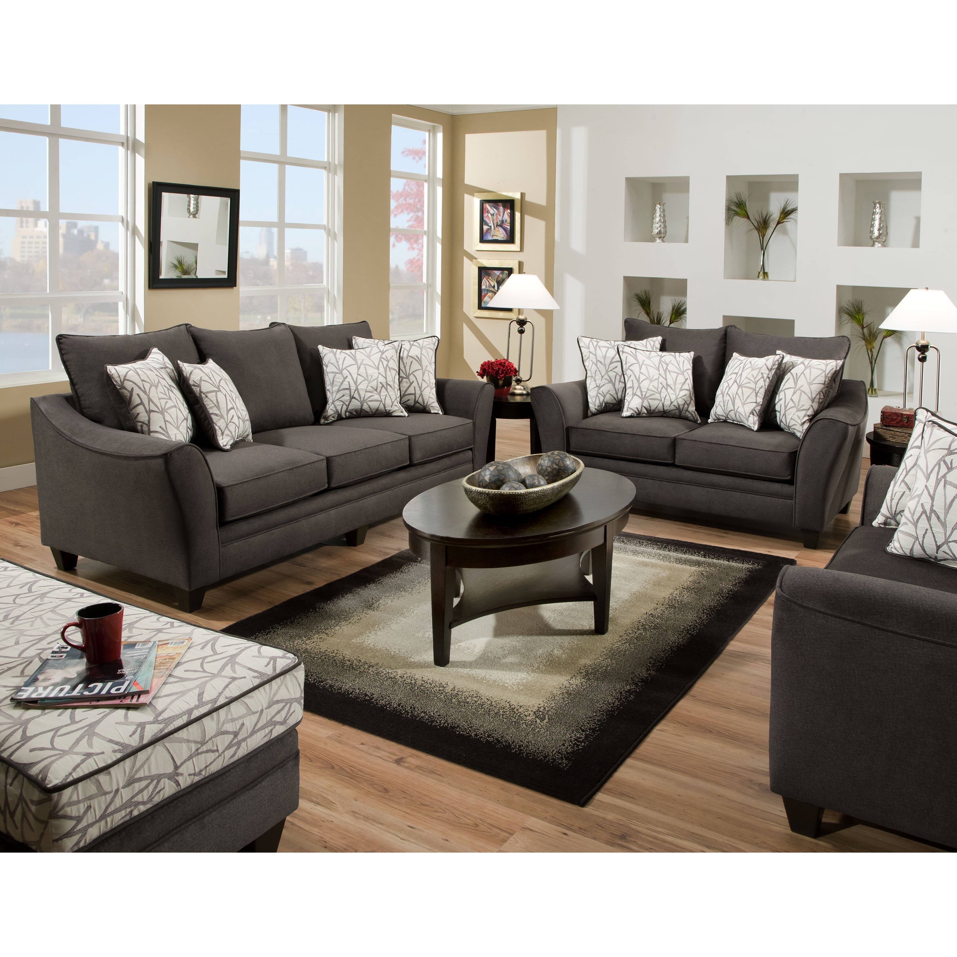 American Furniture Flannel Living Room Collection Reviews Wayfair