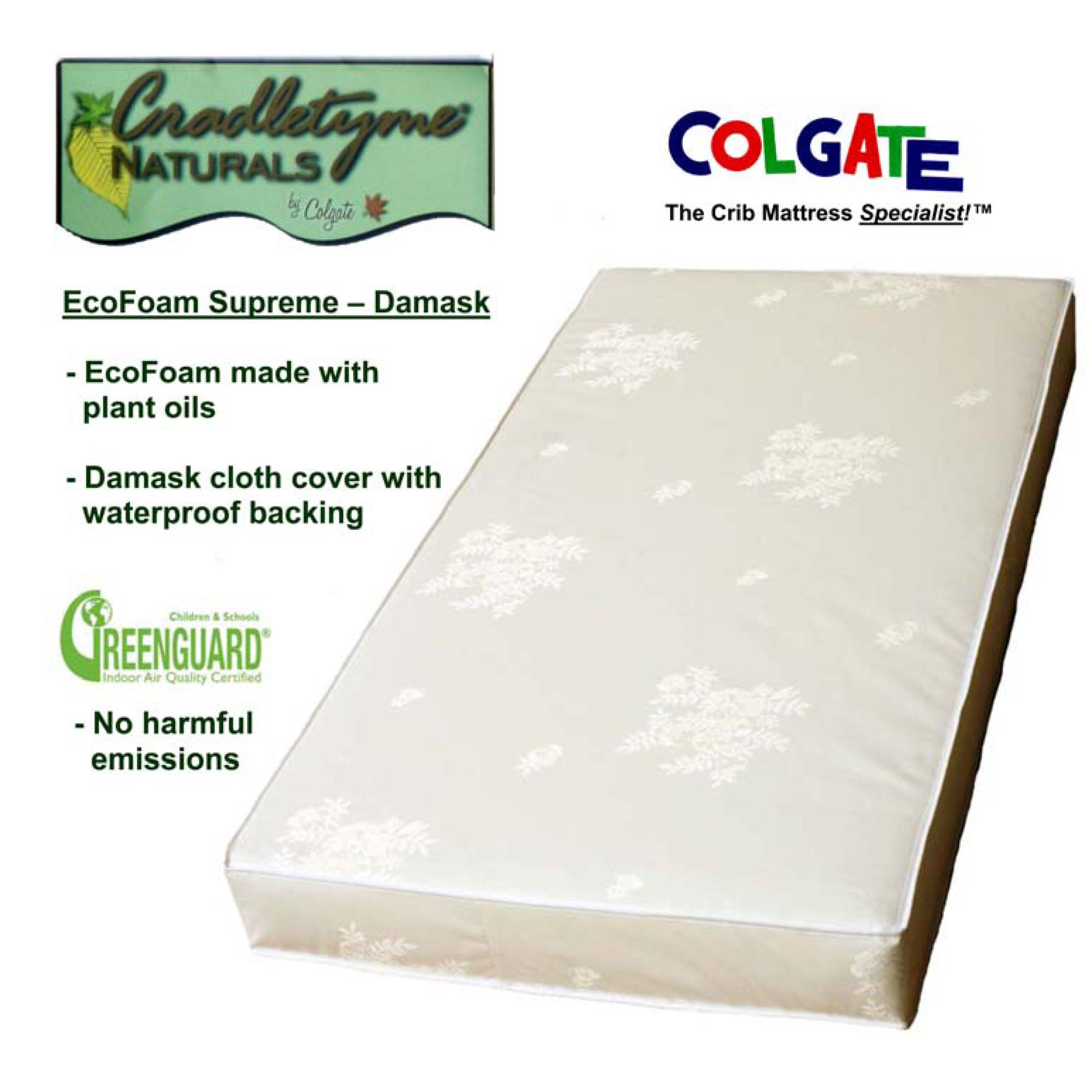 Colgate Cradletyme Naturals Ecofoam Supreme Damask Cloth