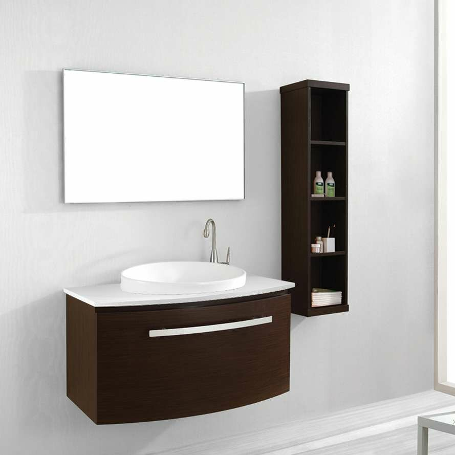 virtu anabelle 39 single bathroom vanity set with white artificial