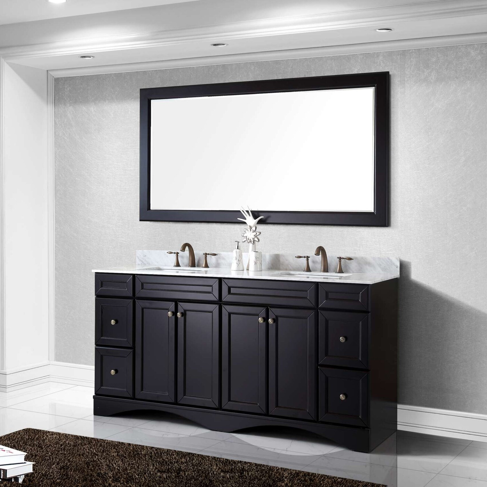 Double mirrored bathroom cabinet specials for las vegas for Bathroom cabinets las vegas