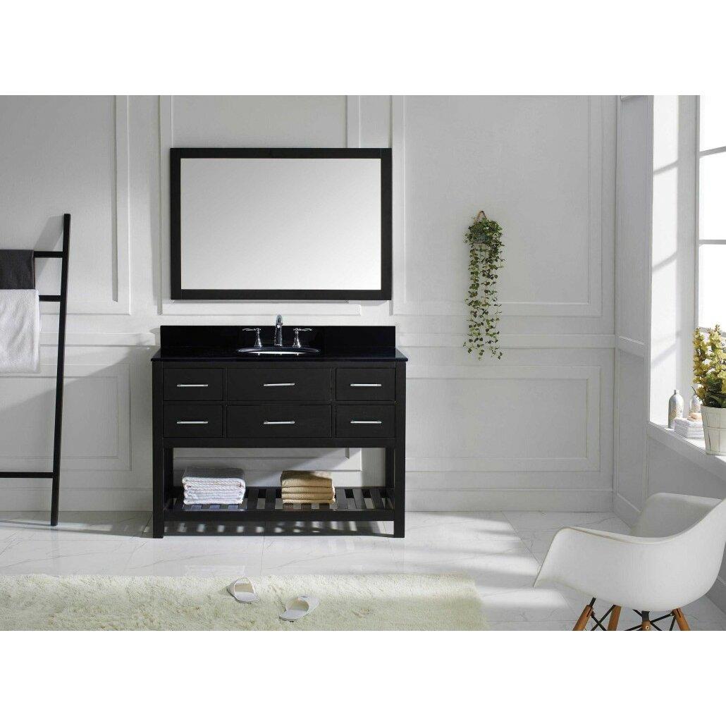 Virtu Caroline Estate 48 Bathroom Vanity Cabinet Reviews Wayfair