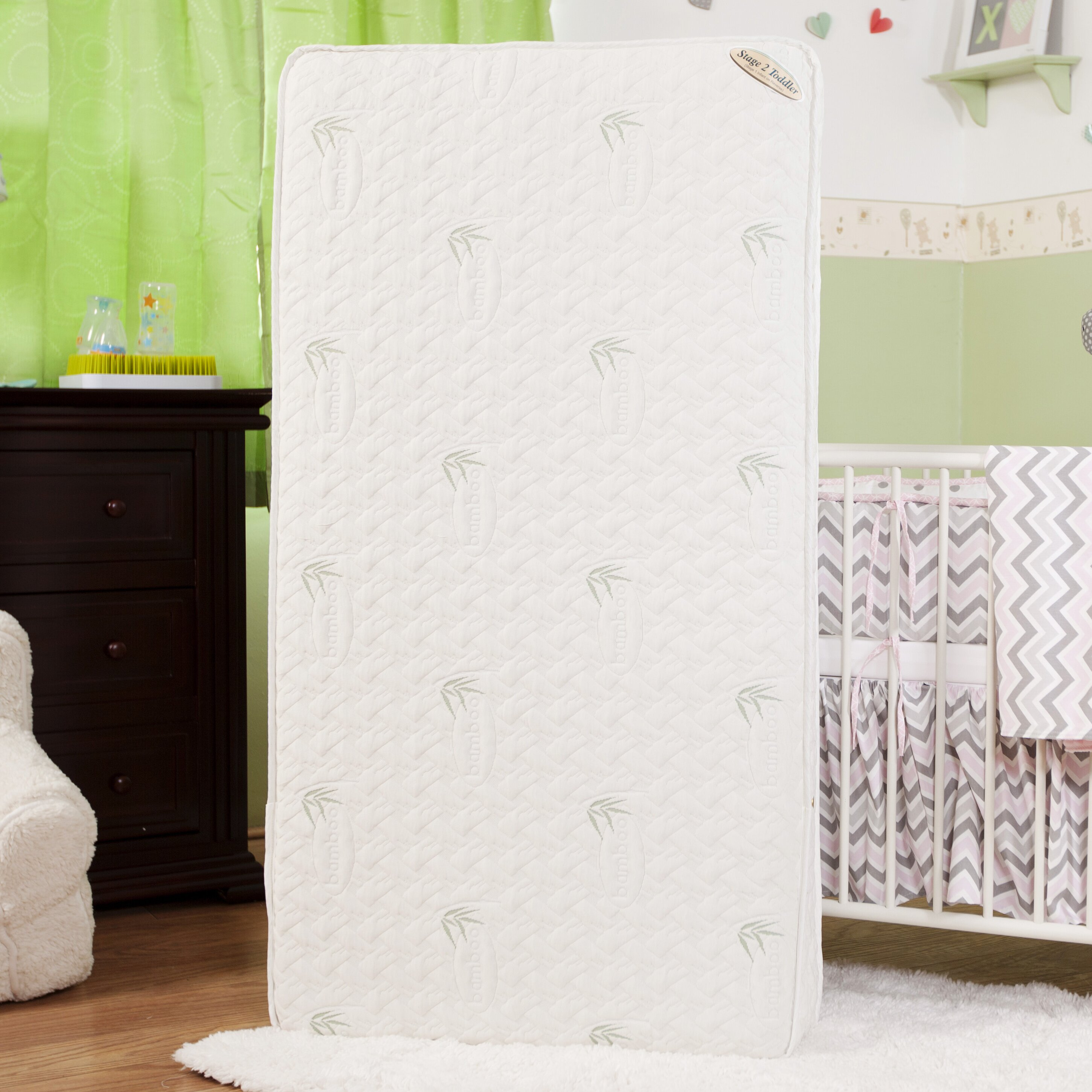 L A Baby Natural I Two In One 5 75 Quot Crib Mattress With
