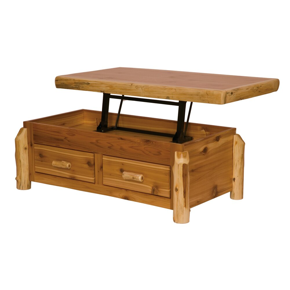 28 Cedar Log Coffee Table Cabin Wildwood Rustics Red Cedar Log Coffee Table Cedar Log