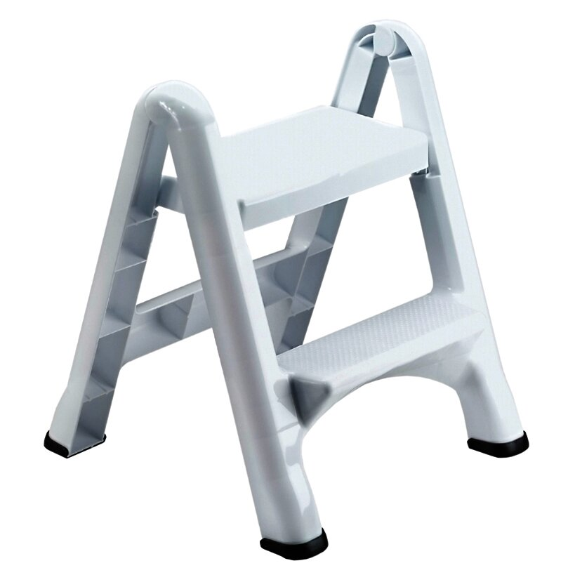 Rubbermaid 2 Step Folding Step Stool With 300 Lb Load