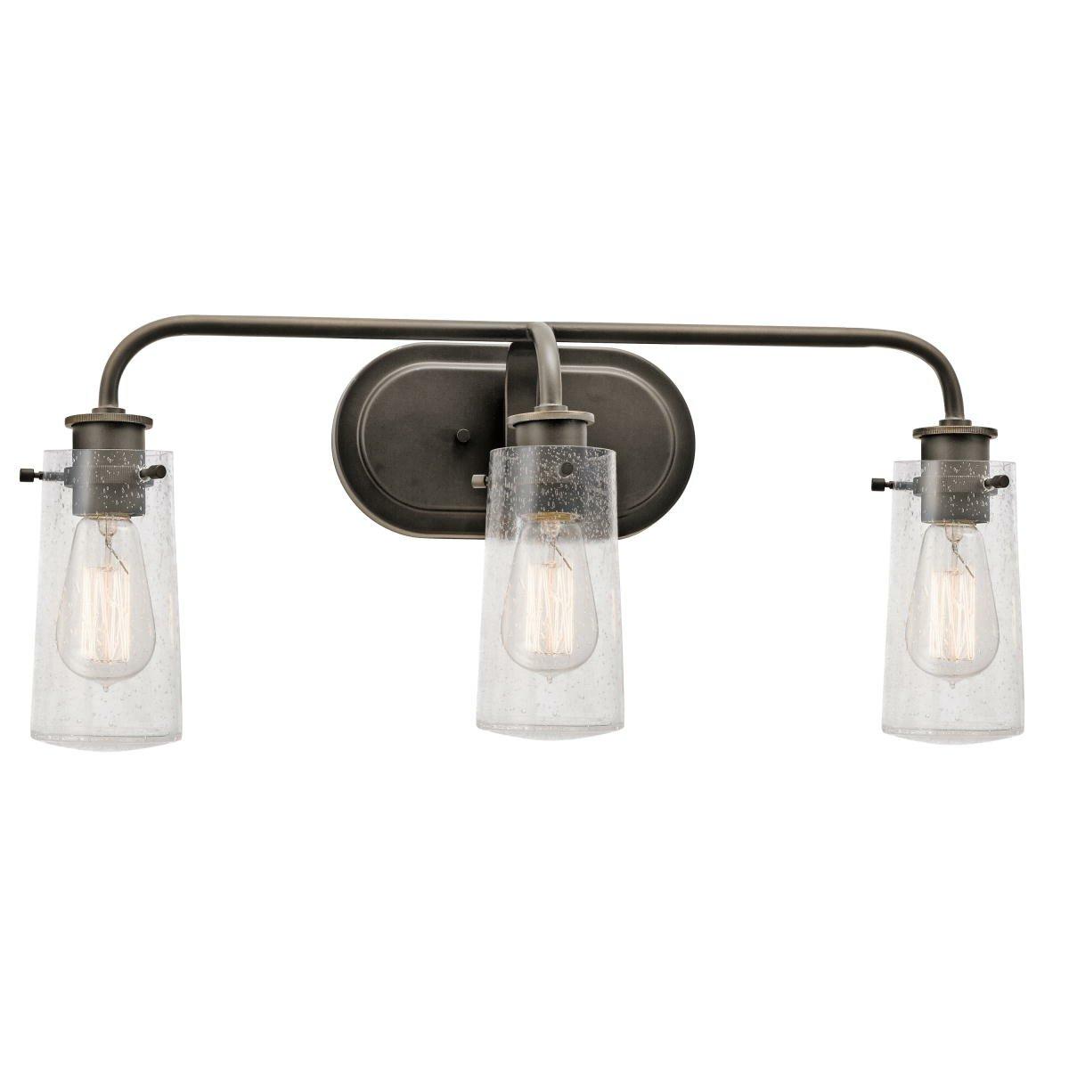Kichler Braelyn 3 Light Vanity Light Reviews Wayfair