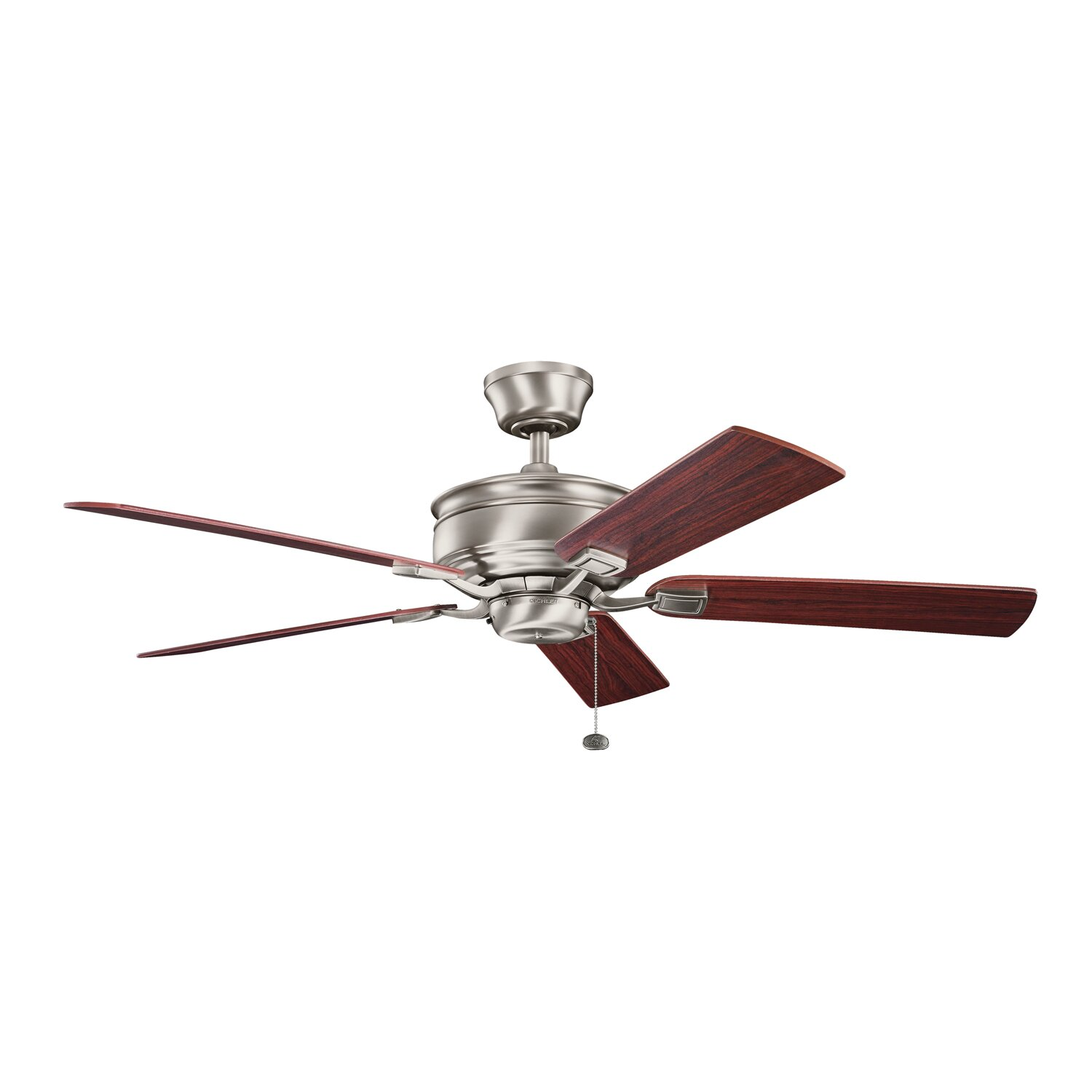 "Kitchler: Kichler 52"" Duvall 5 Blade Ceiling Fan & Reviews"