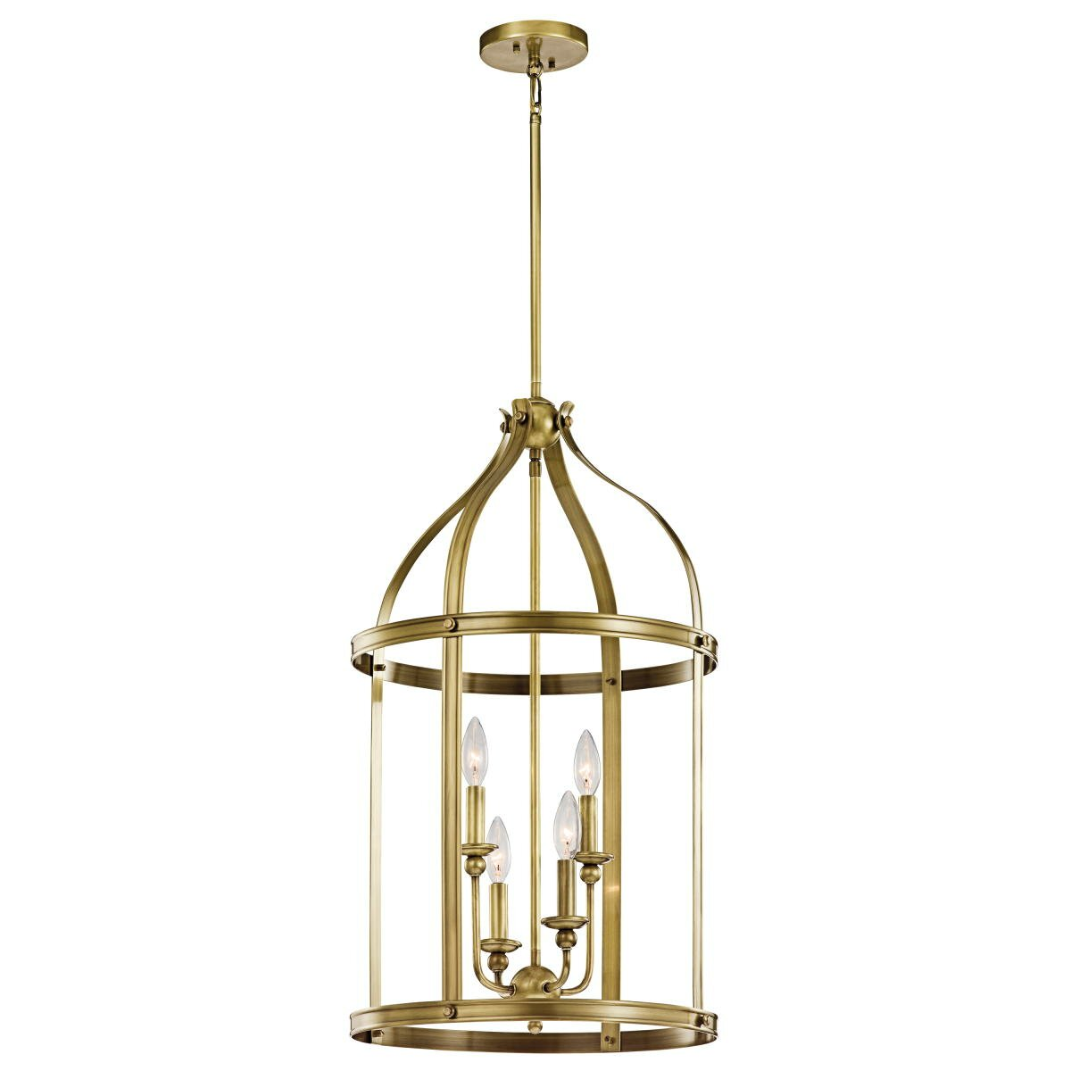 Kichler Foyer Chandelier : Kichler steeplechase light foyer pendant reviews wayfair