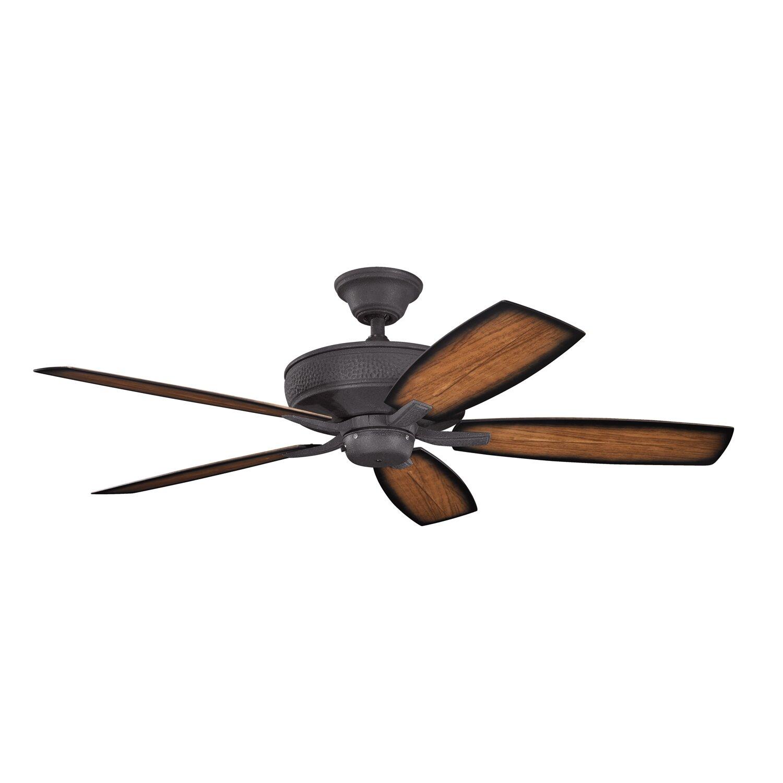 Kichler 52 Monarch II 5 Blade Patio Ceiling Fan Amp Reviews