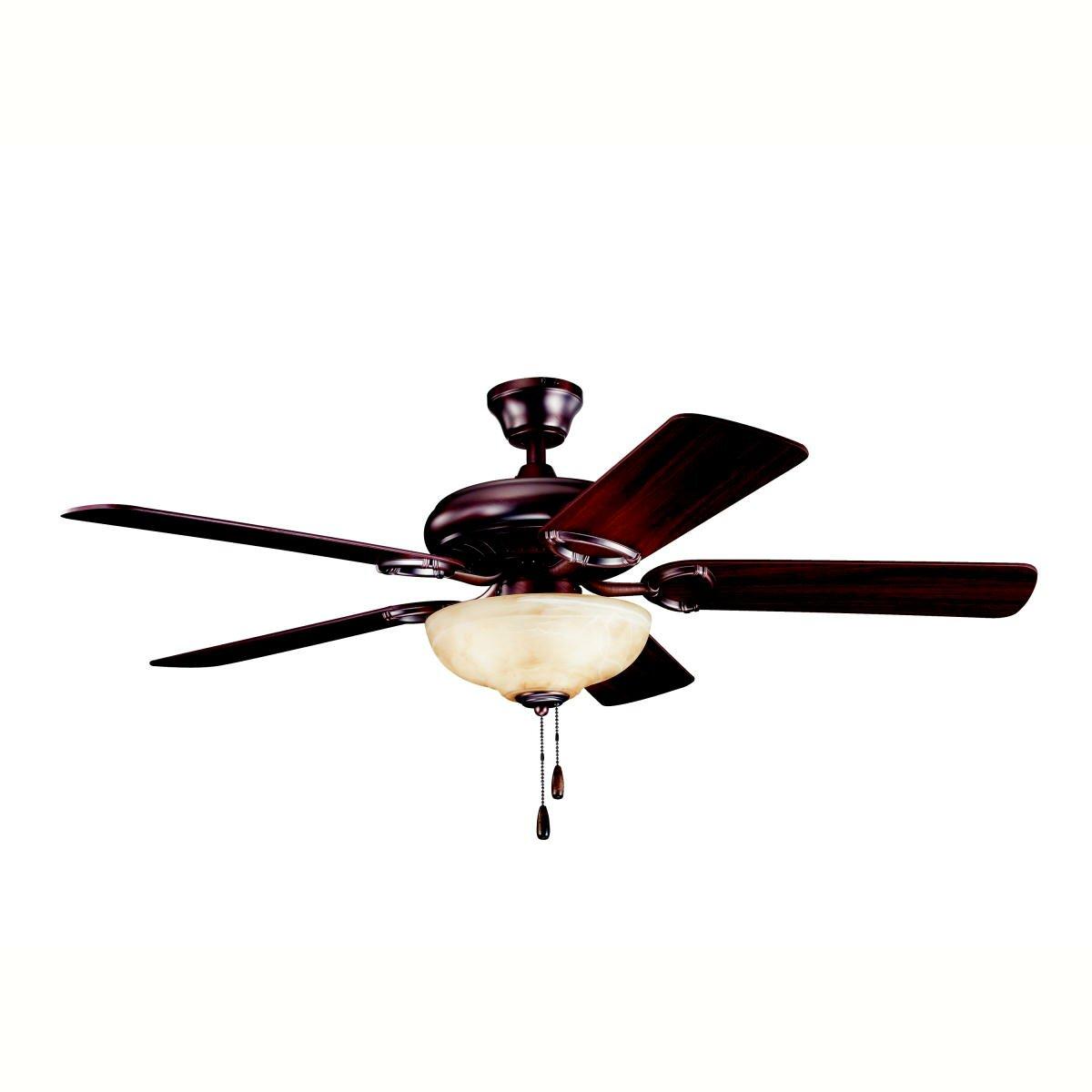 "Kichler 52"" Sutter Place Select 5 Blade Ceiling Fan ..."