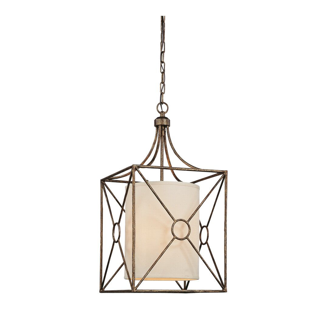 Foyer Ceiling Queen : Troy lighting maidstone foyer pendant reviews wayfair