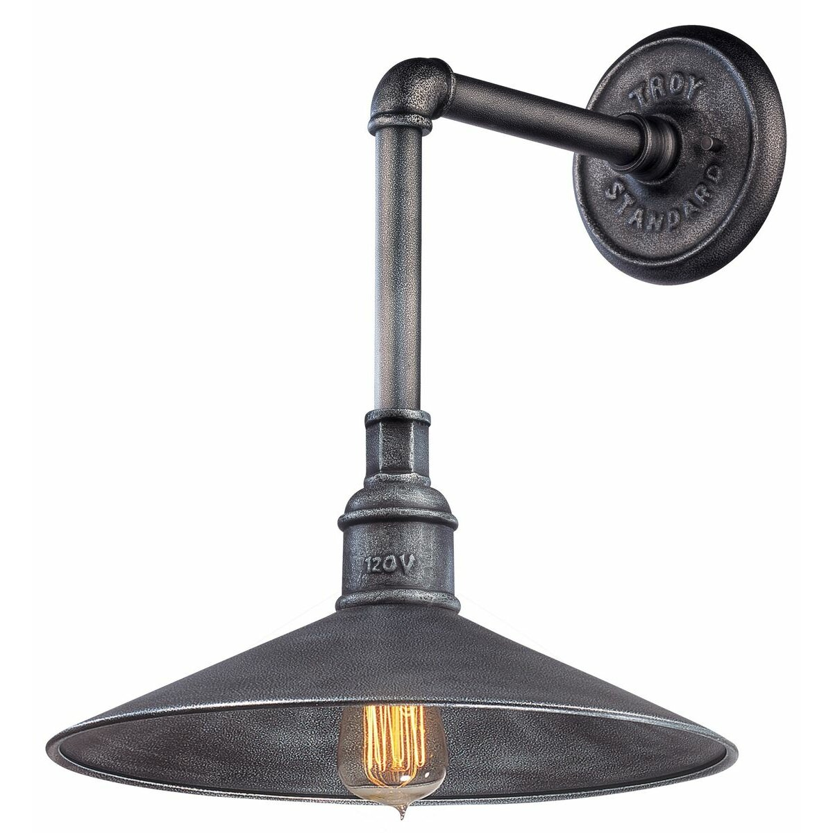 Troy lighting blade 1 light outdoor barn light reviews for Exterieur lighting