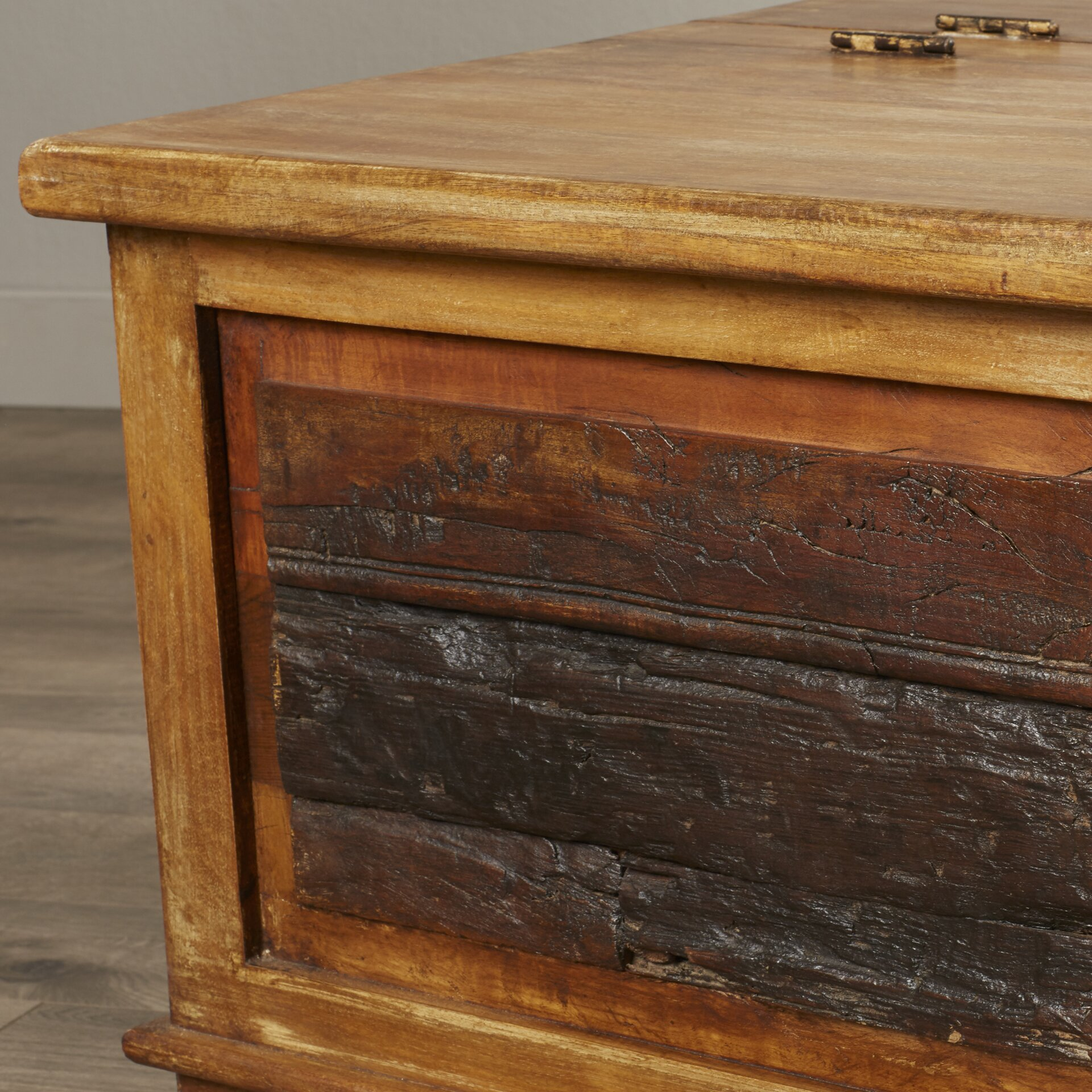 Next Trunk Coffee Table: William Sheppee Kerala Blanket Box / Trunk Coffee Table