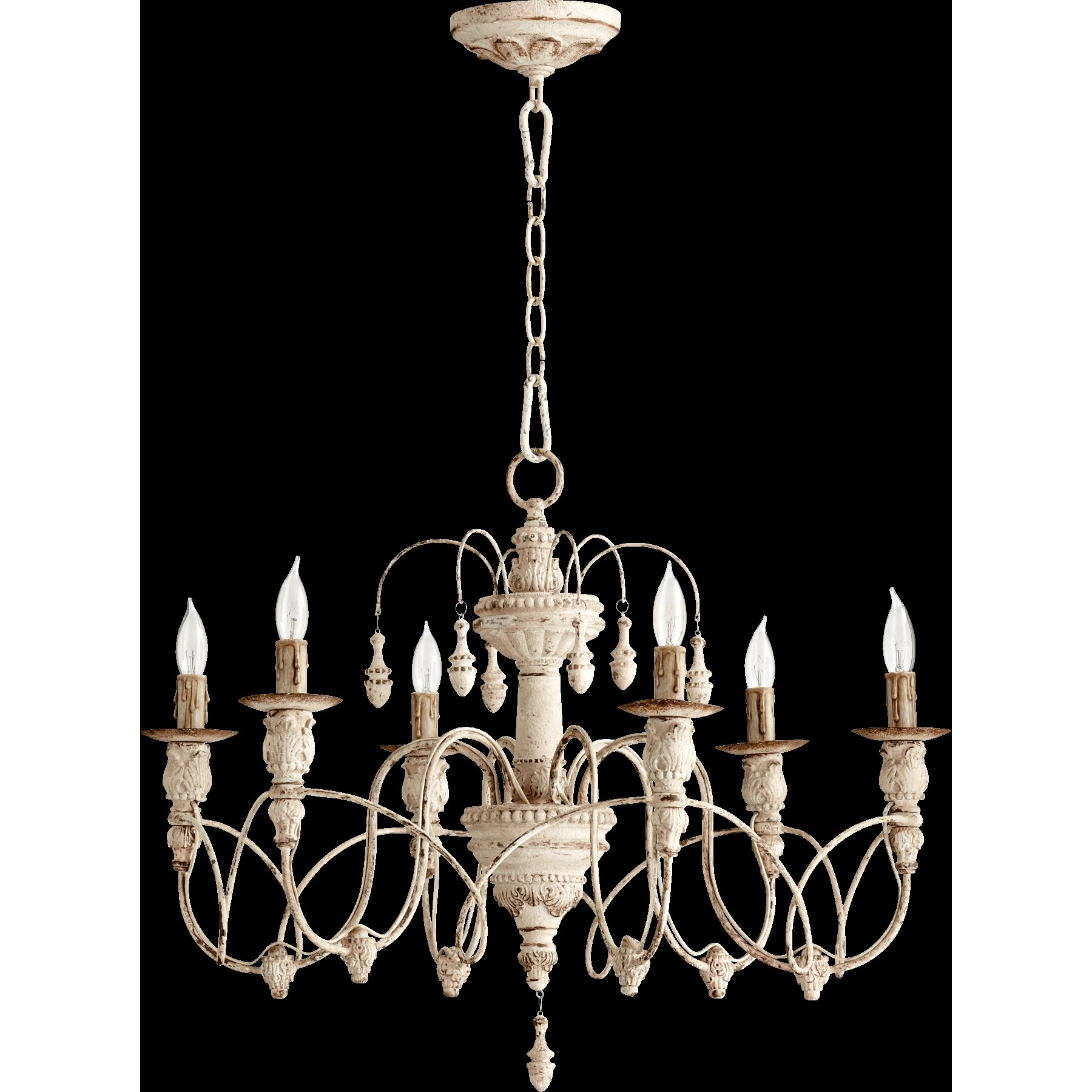 Wayfair Chandelier: Quorum Salento 6 Light Chandelier & Reviews