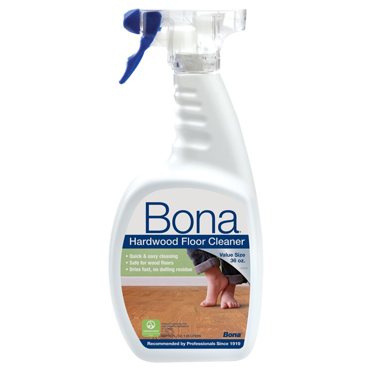 Bona hardwood floor spray cleaner 36 oz reviews wayfair for Bona floor cleaner