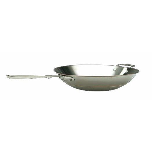 All Clad Copper Core 14 Quot Open Stir Fry Pan Wayfair