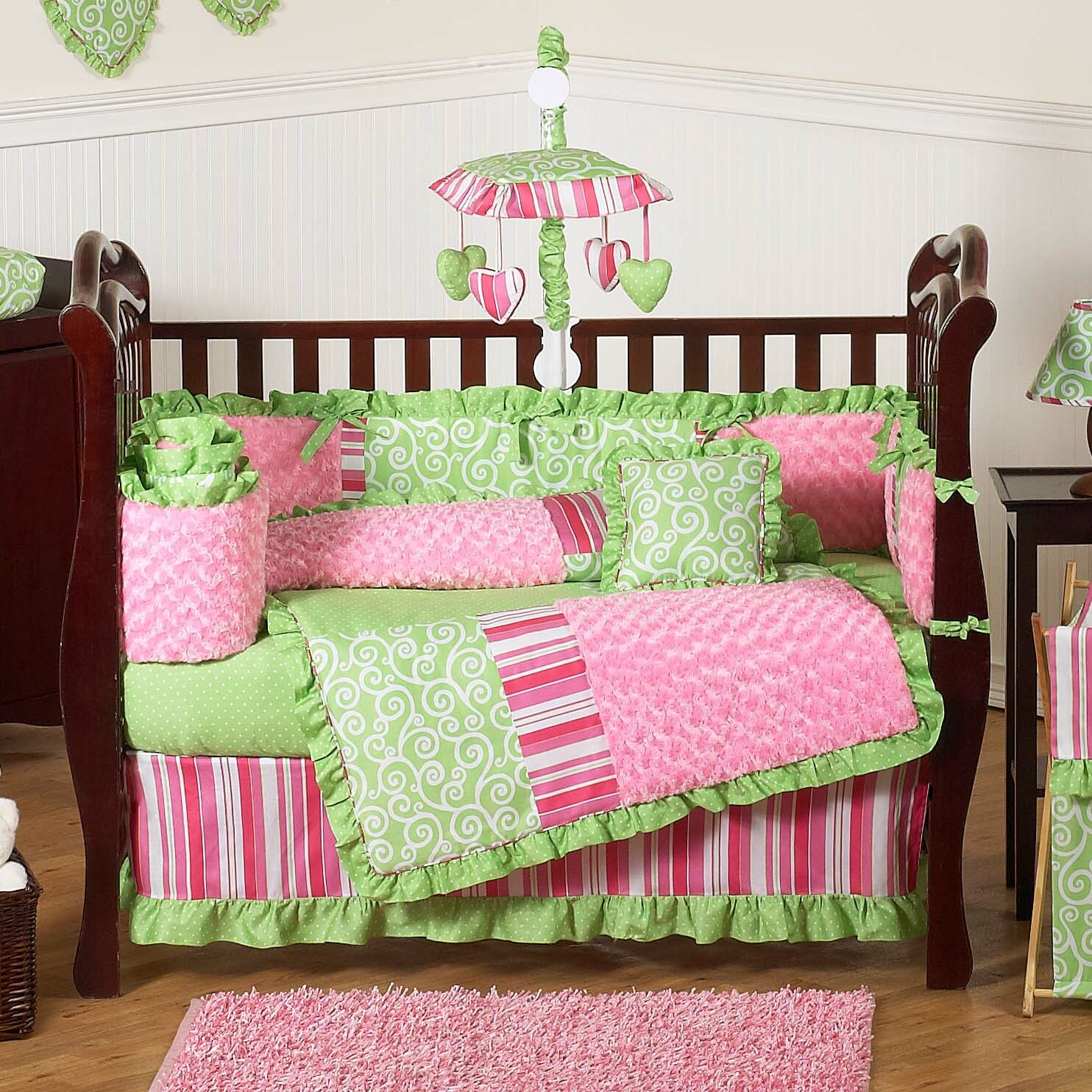 Sweet Jojo Designs Olivia 9 Piece Crib Bedding Set ...