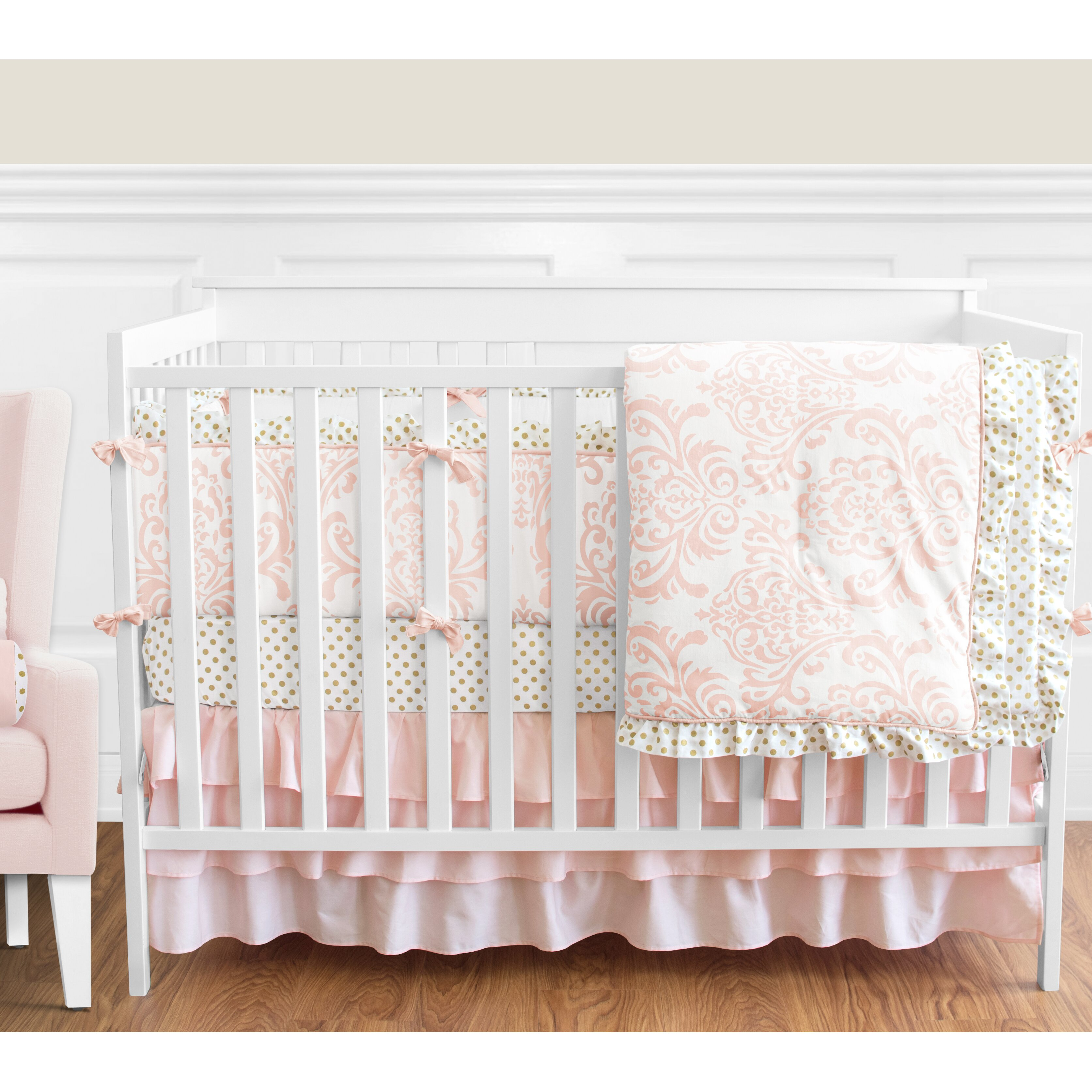 Sweet Jojo Designs Amelia 9 Piece Crib Bedding Set