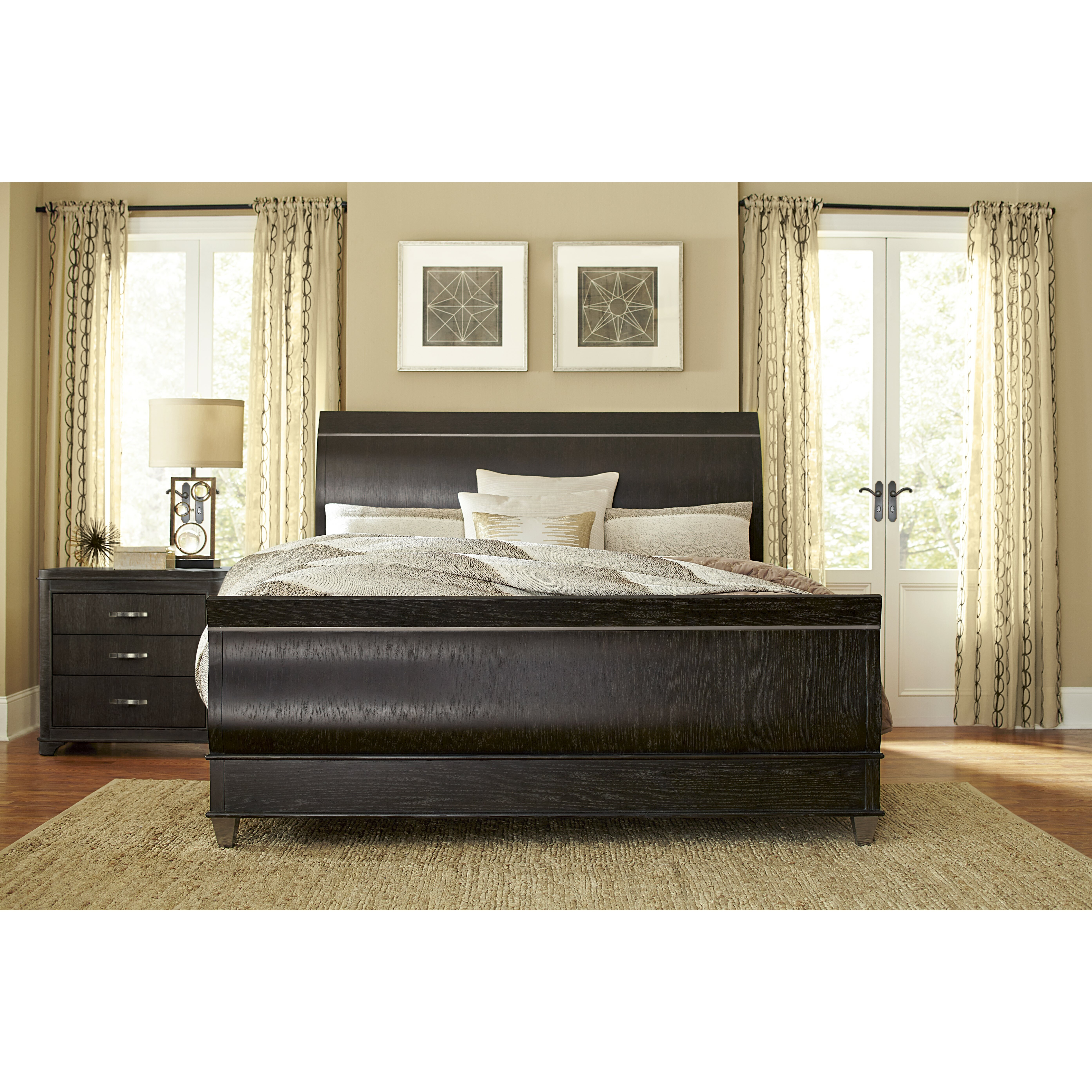 A R T Greenpoint Sleigh Customizable Bedroom Set Wayfair