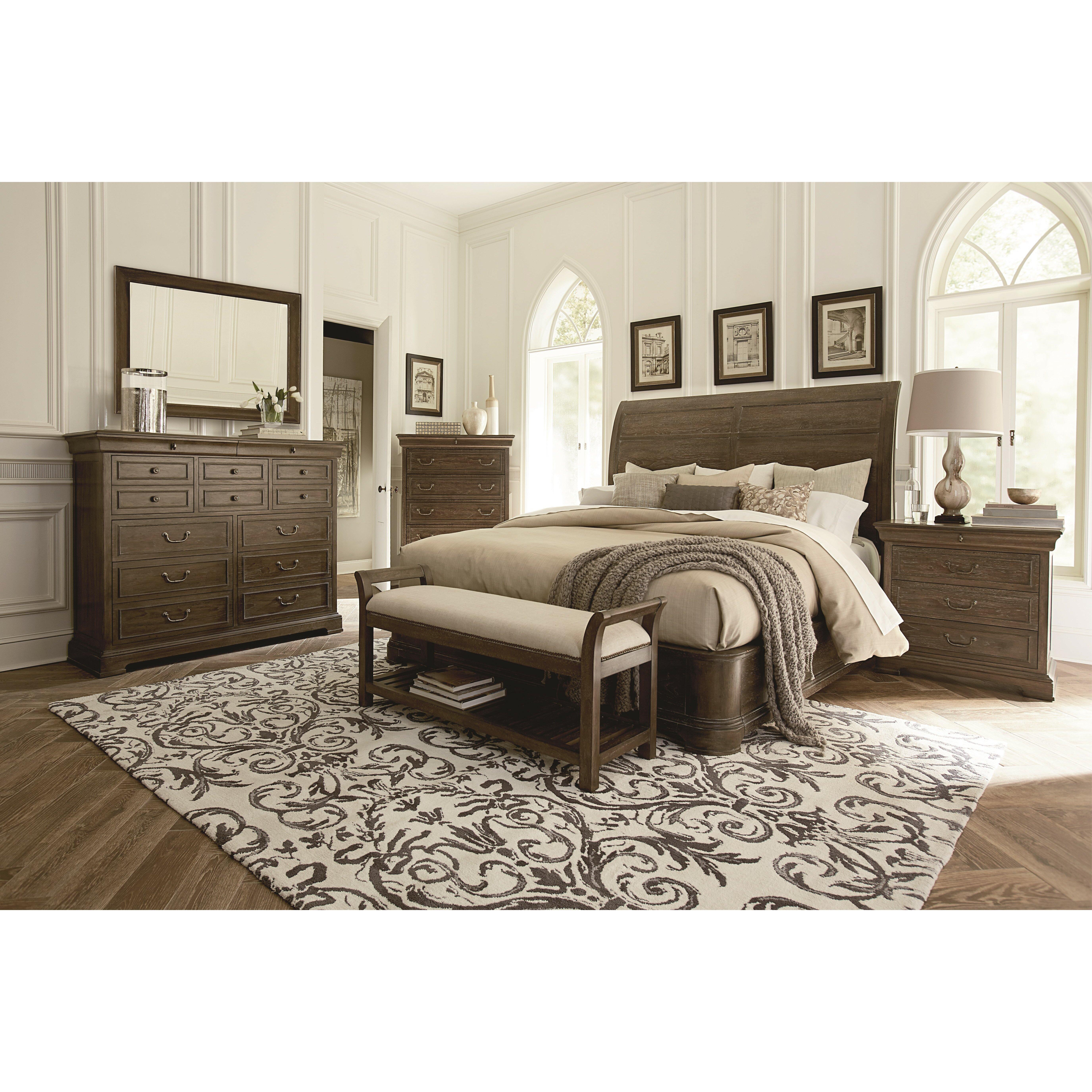 A.R.T. St. Germain Platform Customizable Bedroom Set