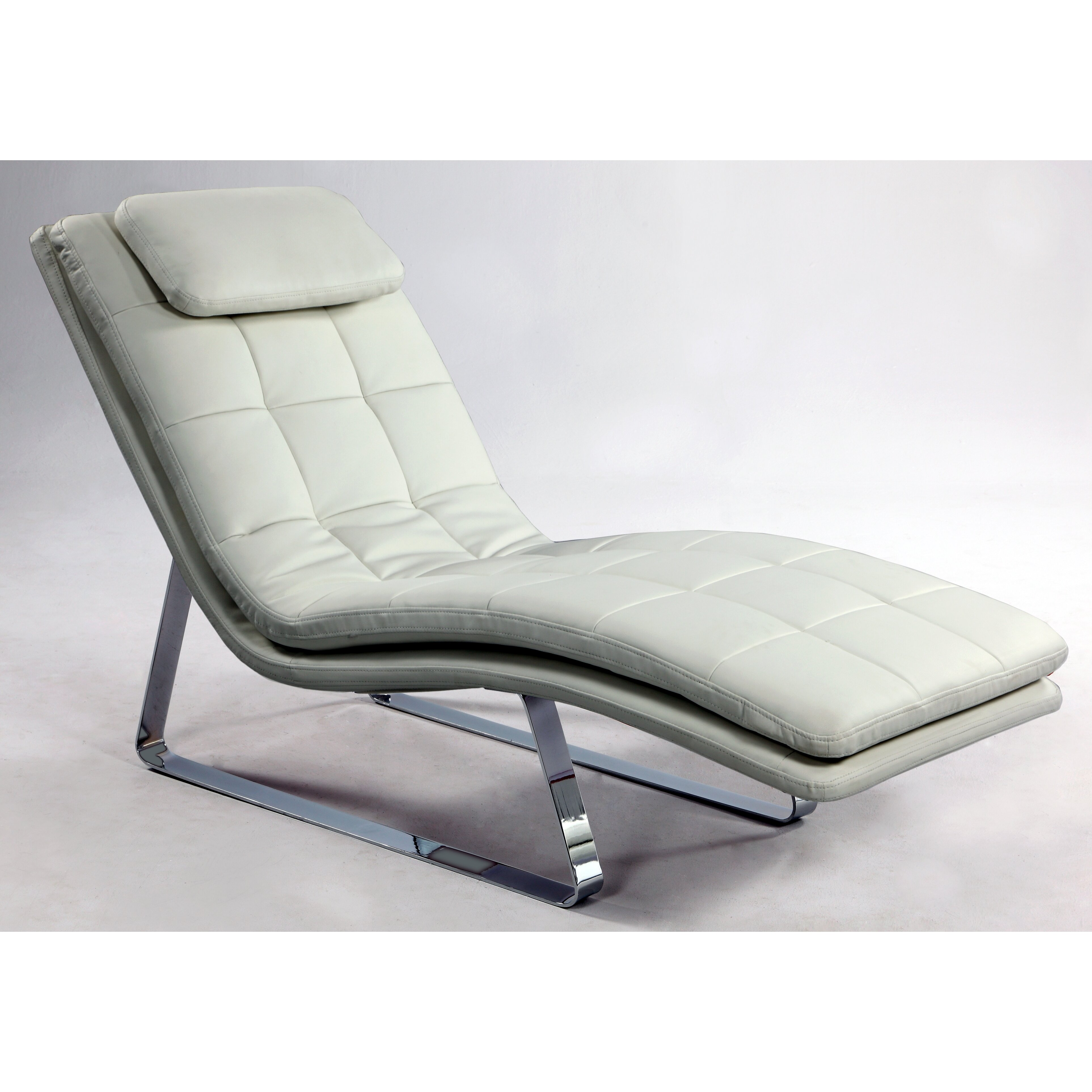Chintaly corvette chaise lounge reviews wayfair for Bathroom chaise lounge