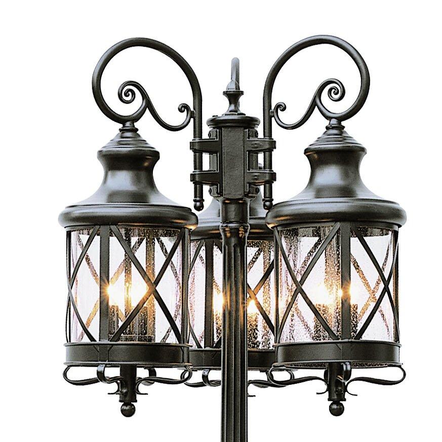 Transglobe Lighting 6 Light 81 Quot Post Light Amp Reviews Wayfair